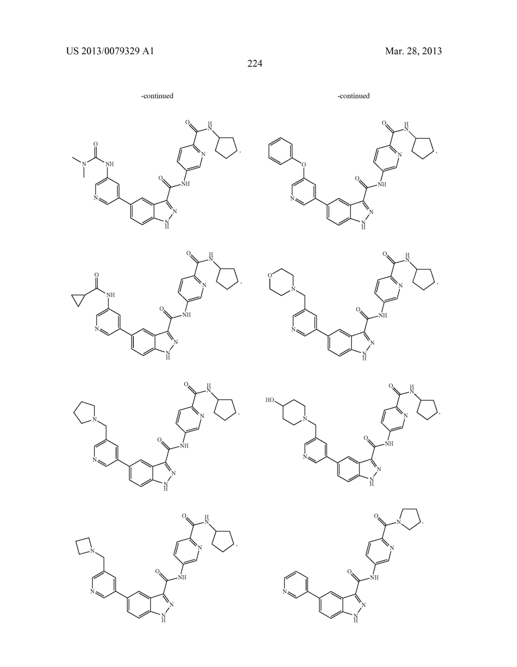 INDAZOLE-3-CARBOXAMIDES AND THEIR USE AS WNT/Beta-CATENIN SIGNALING     PATHWAY INHIBITORS - diagram, schematic, and image 225