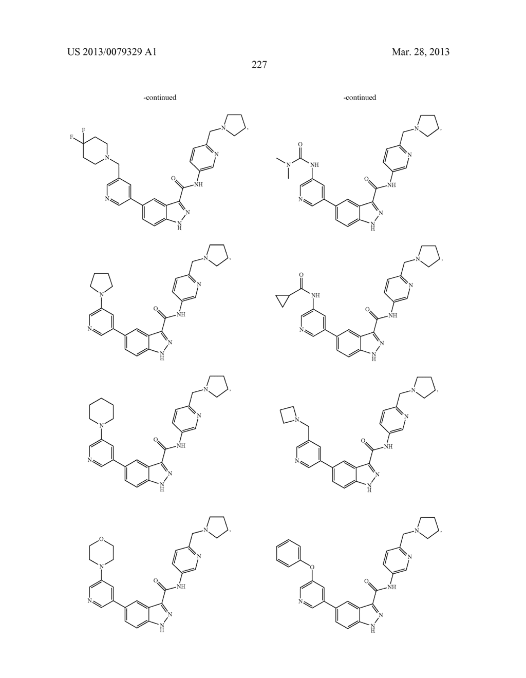 INDAZOLE-3-CARBOXAMIDES AND THEIR USE AS WNT/Beta-CATENIN SIGNALING     PATHWAY INHIBITORS - diagram, schematic, and image 228