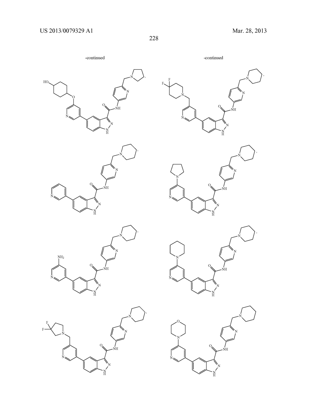 INDAZOLE-3-CARBOXAMIDES AND THEIR USE AS WNT/Beta-CATENIN SIGNALING     PATHWAY INHIBITORS - diagram, schematic, and image 229