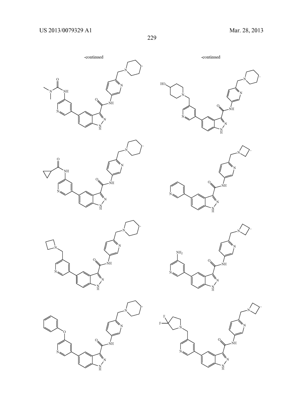 INDAZOLE-3-CARBOXAMIDES AND THEIR USE AS WNT/Beta-CATENIN SIGNALING     PATHWAY INHIBITORS - diagram, schematic, and image 230