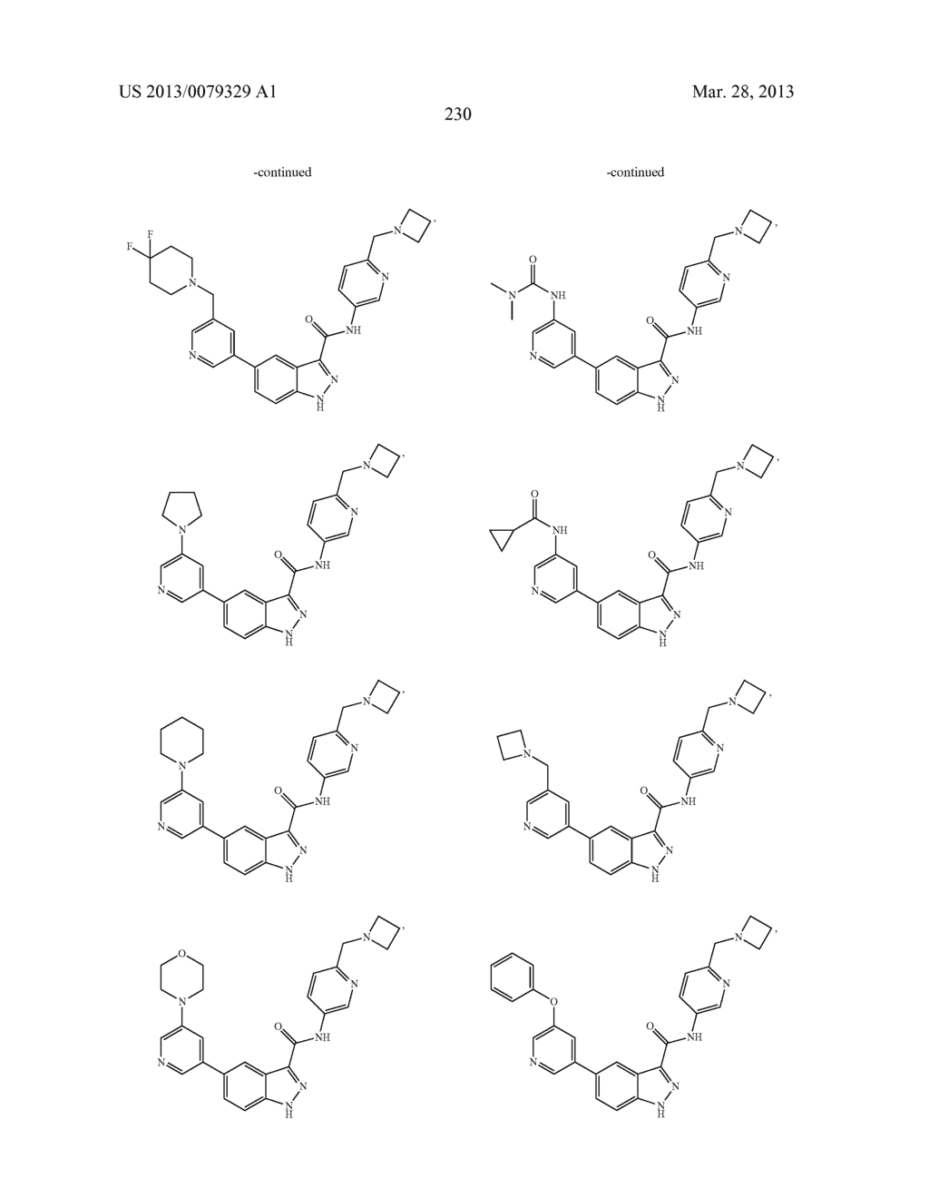INDAZOLE-3-CARBOXAMIDES AND THEIR USE AS WNT/Beta-CATENIN SIGNALING     PATHWAY INHIBITORS - diagram, schematic, and image 231
