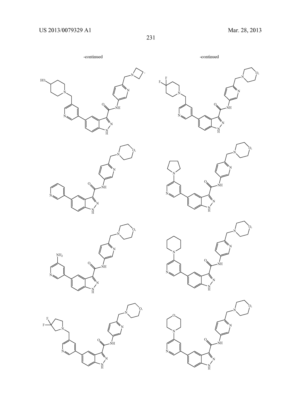 INDAZOLE-3-CARBOXAMIDES AND THEIR USE AS WNT/Beta-CATENIN SIGNALING     PATHWAY INHIBITORS - diagram, schematic, and image 232