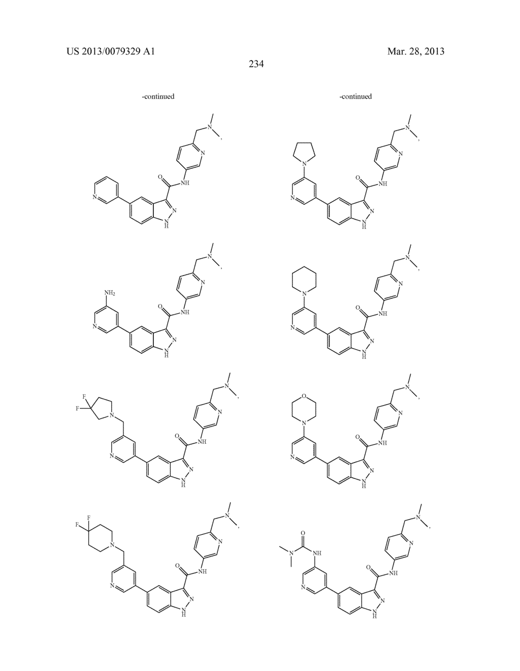 INDAZOLE-3-CARBOXAMIDES AND THEIR USE AS WNT/Beta-CATENIN SIGNALING     PATHWAY INHIBITORS - diagram, schematic, and image 235