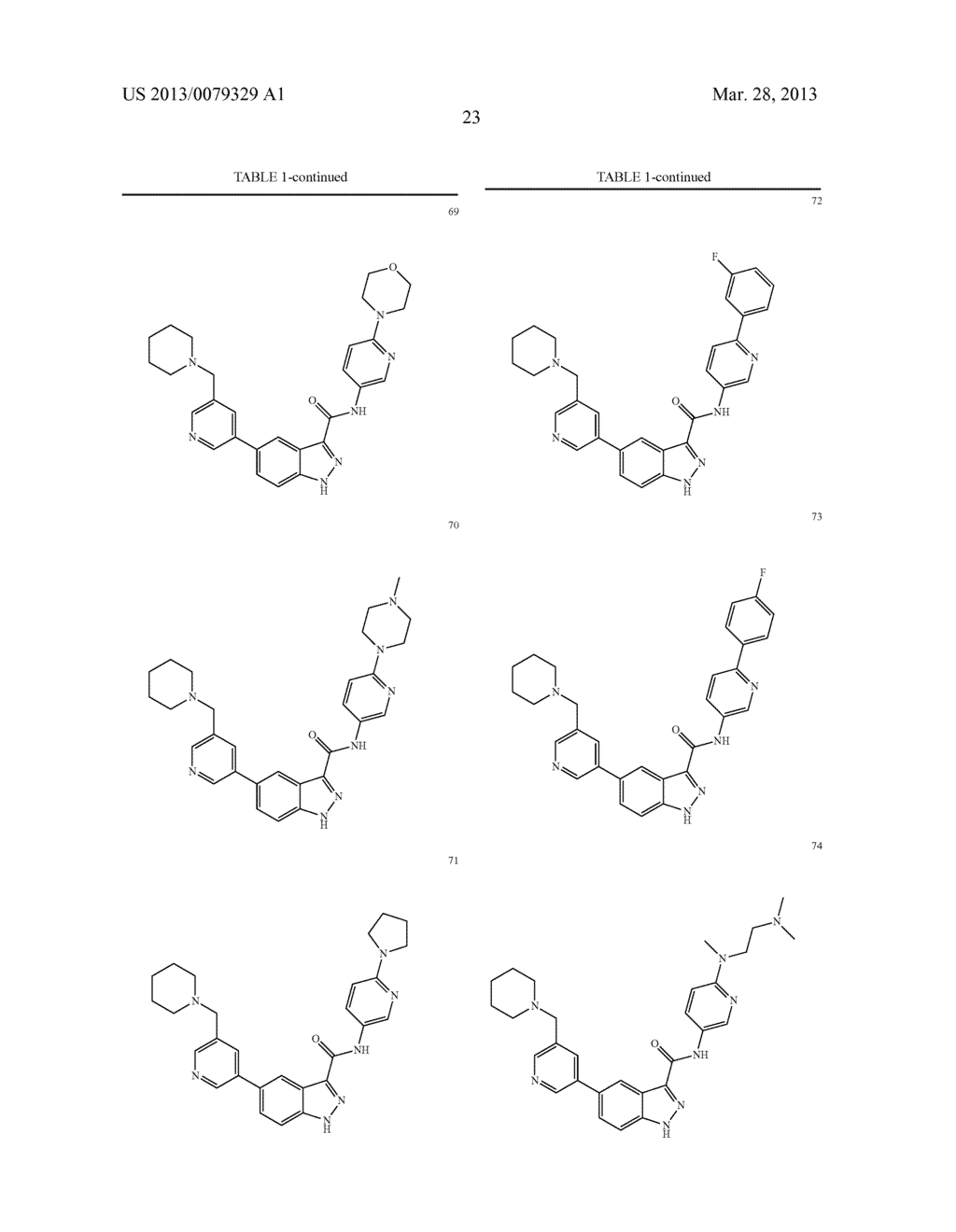 INDAZOLE-3-CARBOXAMIDES AND THEIR USE AS WNT/Beta-CATENIN SIGNALING     PATHWAY INHIBITORS - diagram, schematic, and image 24