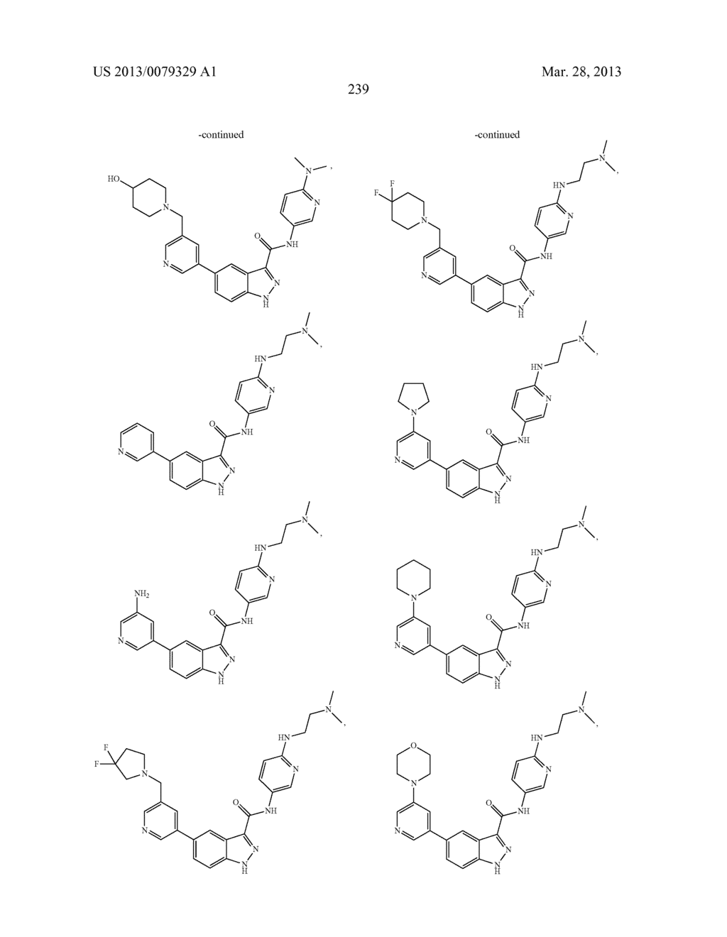 INDAZOLE-3-CARBOXAMIDES AND THEIR USE AS WNT/Beta-CATENIN SIGNALING     PATHWAY INHIBITORS - diagram, schematic, and image 240