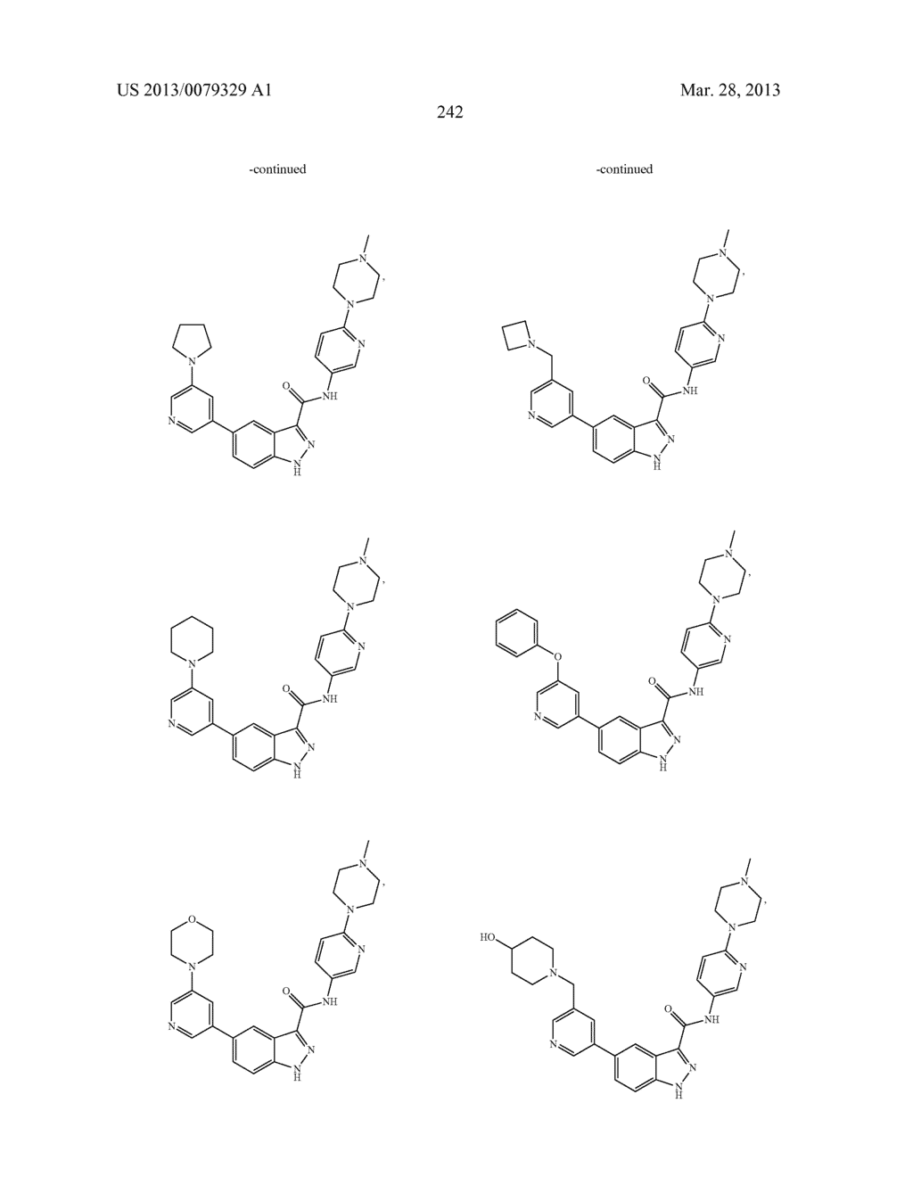 INDAZOLE-3-CARBOXAMIDES AND THEIR USE AS WNT/Beta-CATENIN SIGNALING     PATHWAY INHIBITORS - diagram, schematic, and image 243