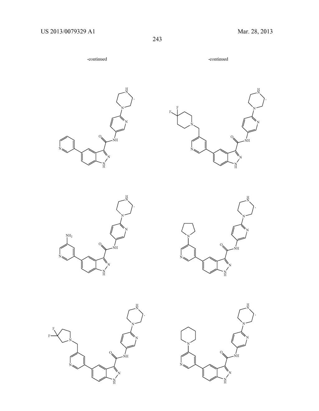 INDAZOLE-3-CARBOXAMIDES AND THEIR USE AS WNT/Beta-CATENIN SIGNALING     PATHWAY INHIBITORS - diagram, schematic, and image 244