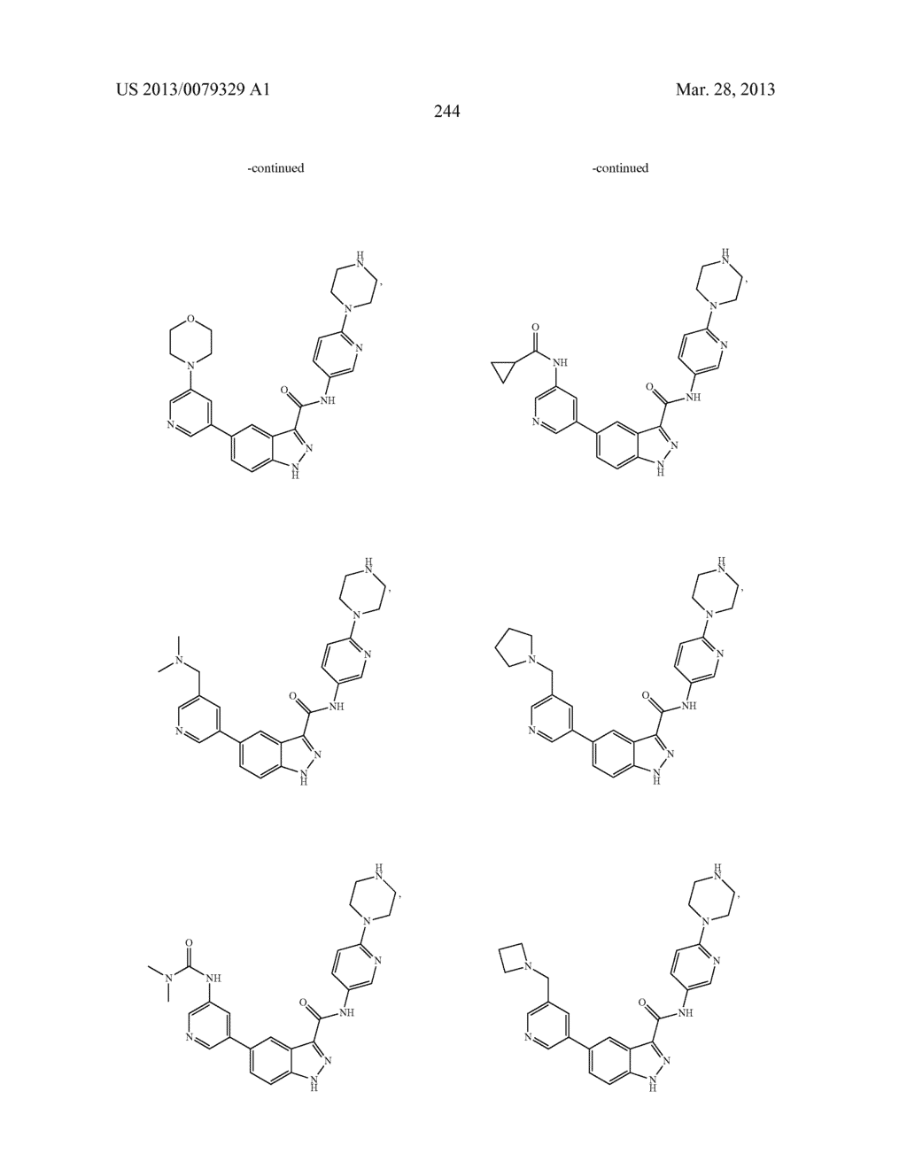 INDAZOLE-3-CARBOXAMIDES AND THEIR USE AS WNT/Beta-CATENIN SIGNALING     PATHWAY INHIBITORS - diagram, schematic, and image 245