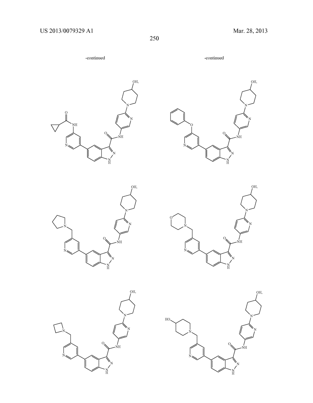 INDAZOLE-3-CARBOXAMIDES AND THEIR USE AS WNT/Beta-CATENIN SIGNALING     PATHWAY INHIBITORS - diagram, schematic, and image 251