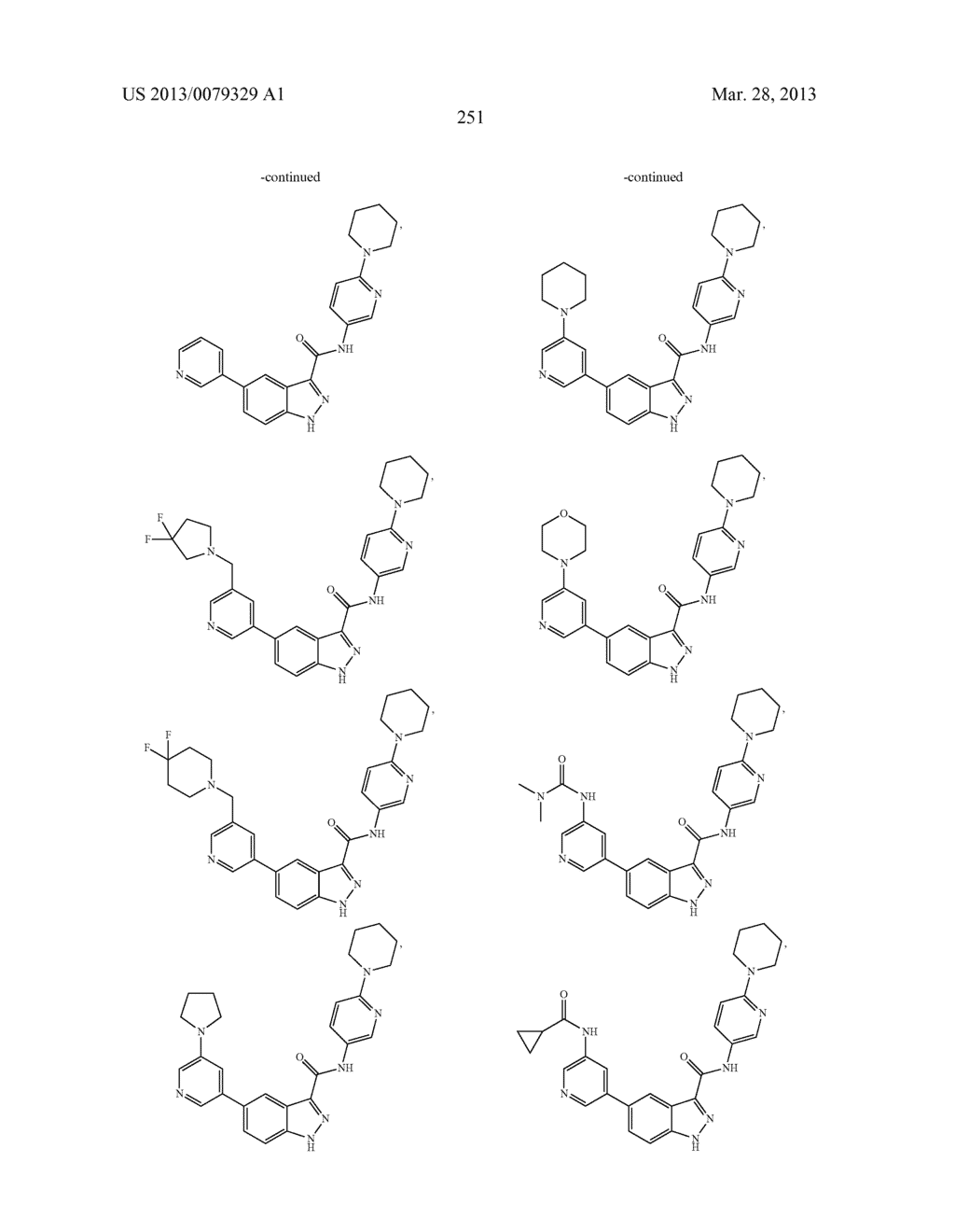INDAZOLE-3-CARBOXAMIDES AND THEIR USE AS WNT/Beta-CATENIN SIGNALING     PATHWAY INHIBITORS - diagram, schematic, and image 252