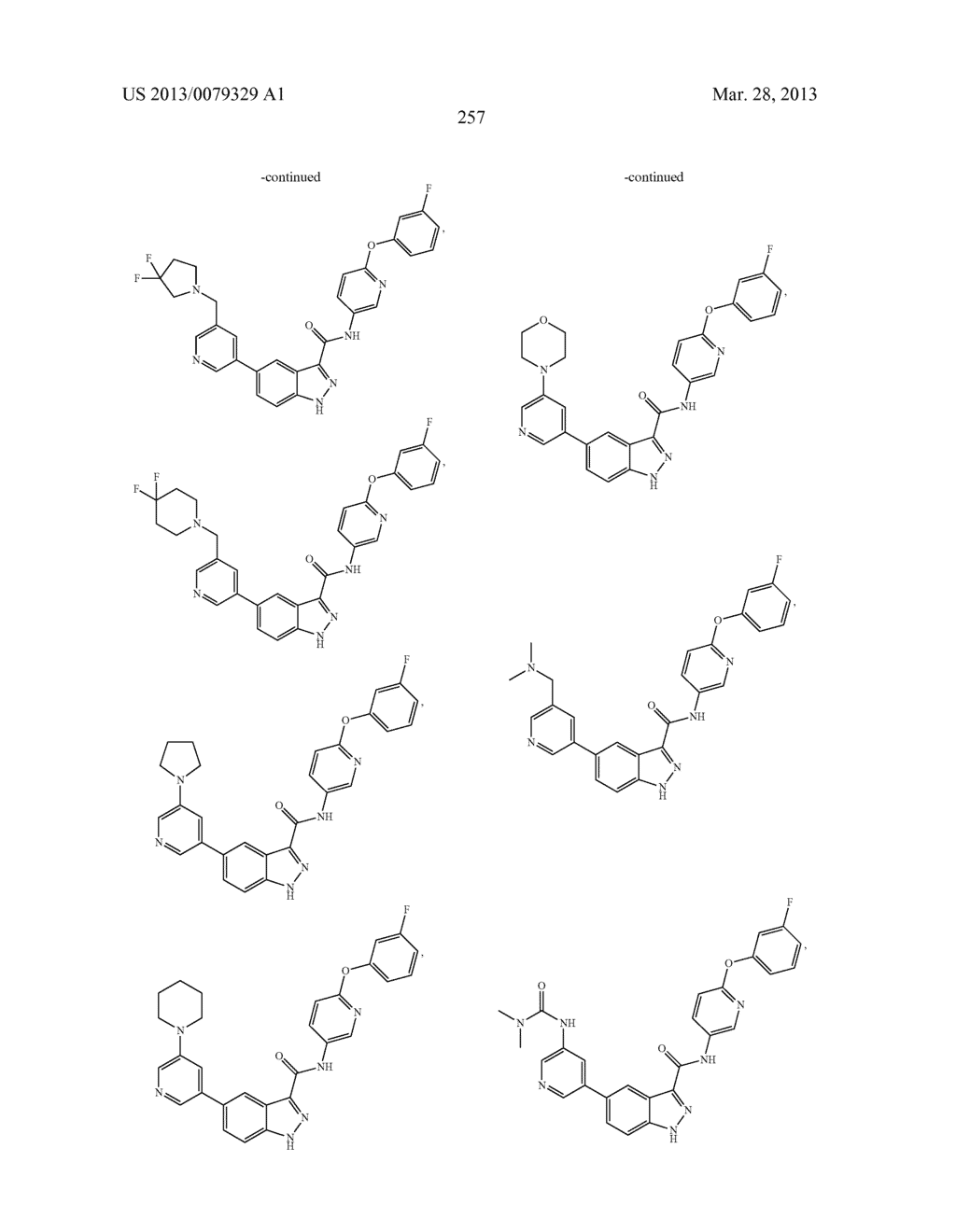 INDAZOLE-3-CARBOXAMIDES AND THEIR USE AS WNT/Beta-CATENIN SIGNALING     PATHWAY INHIBITORS - diagram, schematic, and image 258