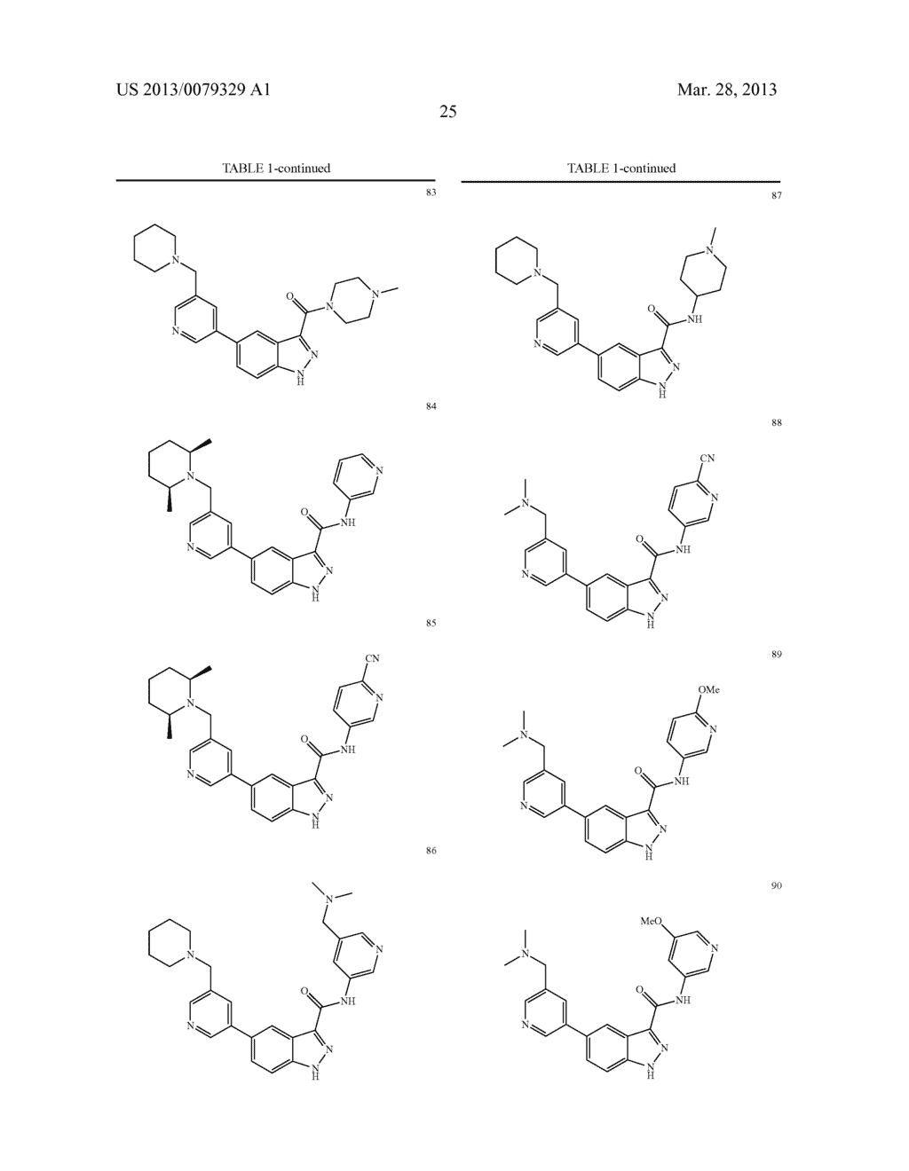 INDAZOLE-3-CARBOXAMIDES AND THEIR USE AS WNT/Beta-CATENIN SIGNALING     PATHWAY INHIBITORS - diagram, schematic, and image 26