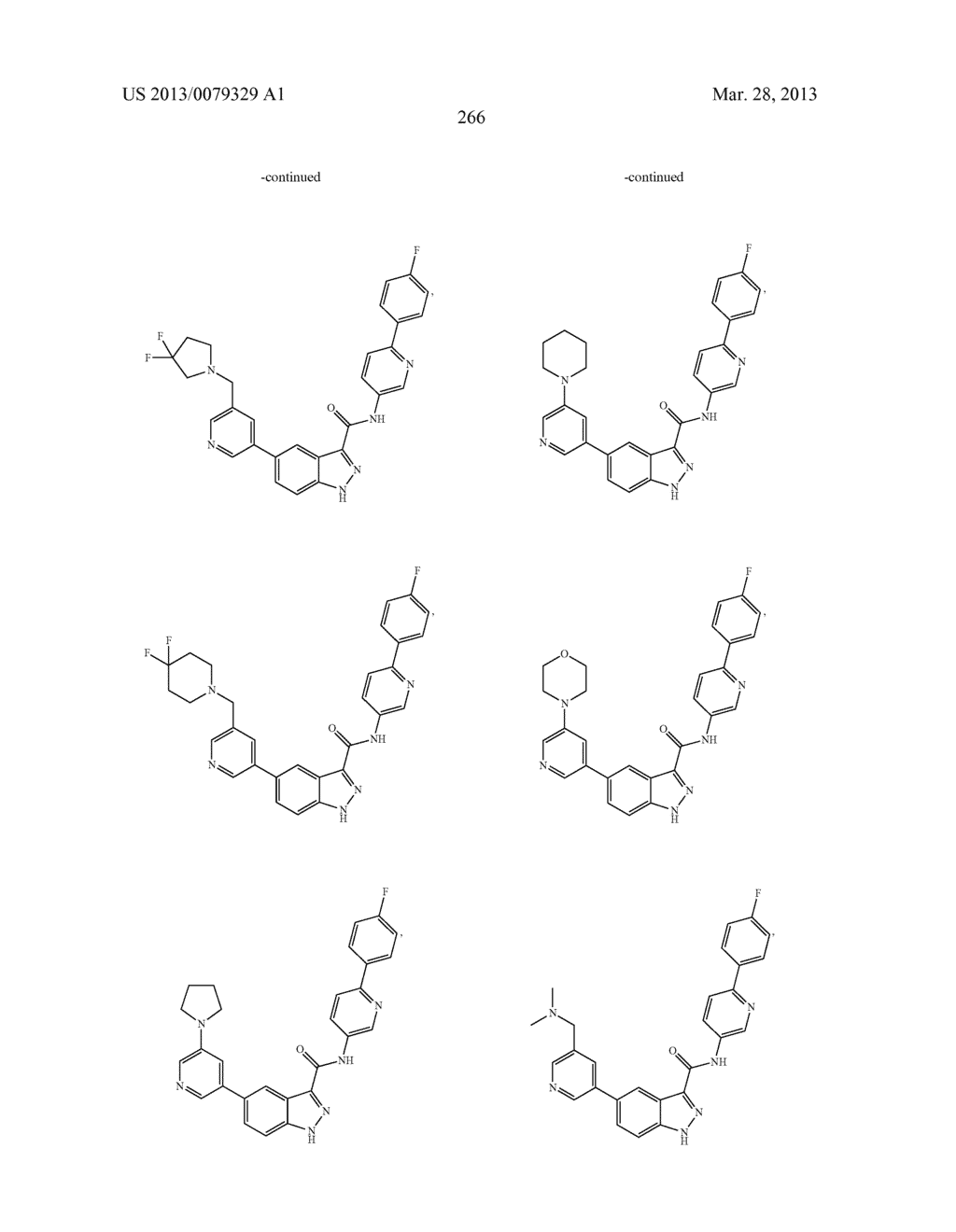 INDAZOLE-3-CARBOXAMIDES AND THEIR USE AS WNT/Beta-CATENIN SIGNALING     PATHWAY INHIBITORS - diagram, schematic, and image 267