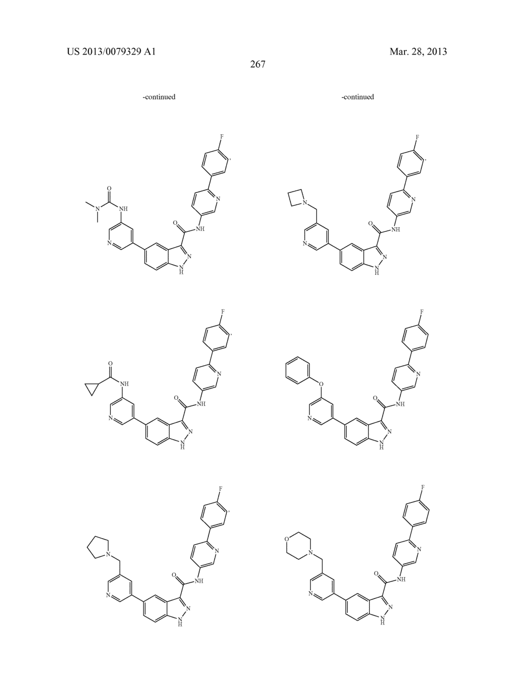 INDAZOLE-3-CARBOXAMIDES AND THEIR USE AS WNT/Beta-CATENIN SIGNALING     PATHWAY INHIBITORS - diagram, schematic, and image 268