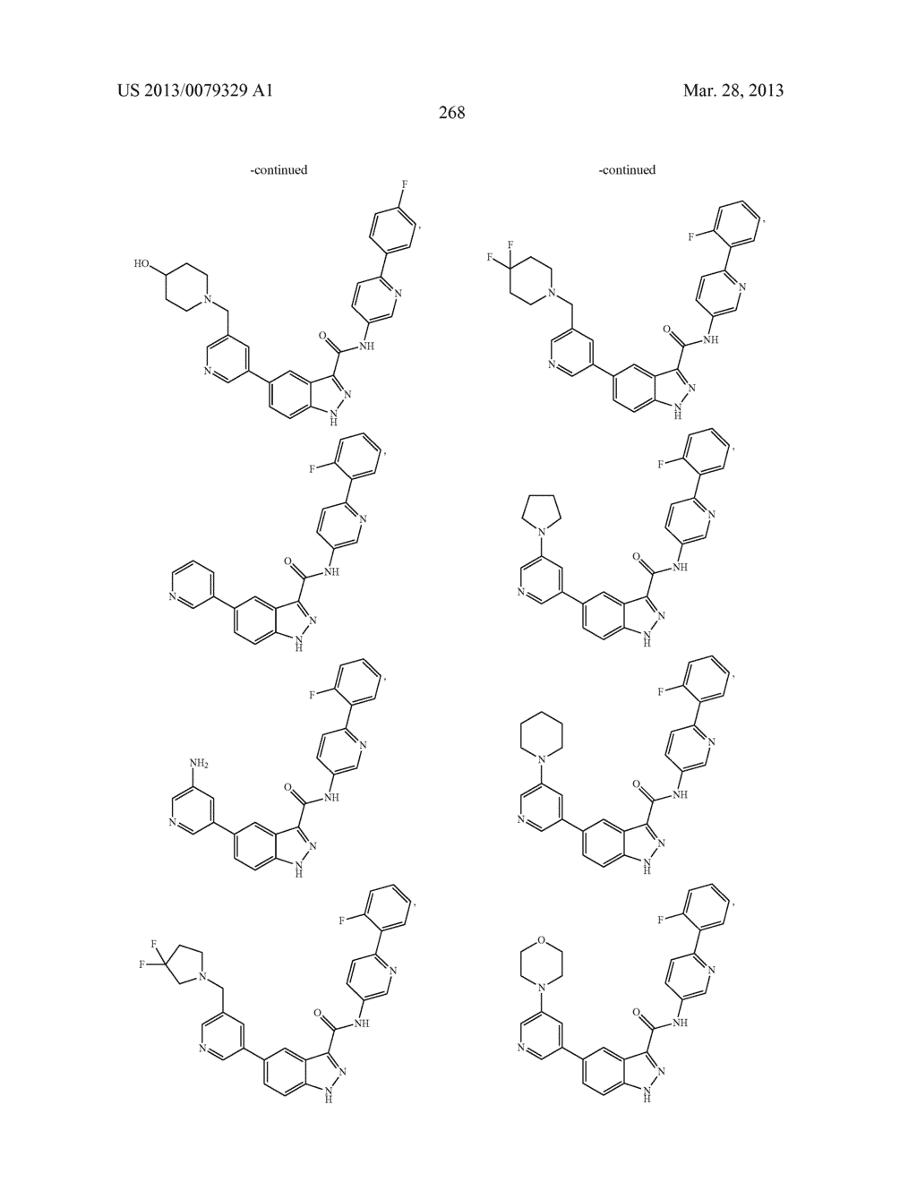INDAZOLE-3-CARBOXAMIDES AND THEIR USE AS WNT/Beta-CATENIN SIGNALING     PATHWAY INHIBITORS - diagram, schematic, and image 269