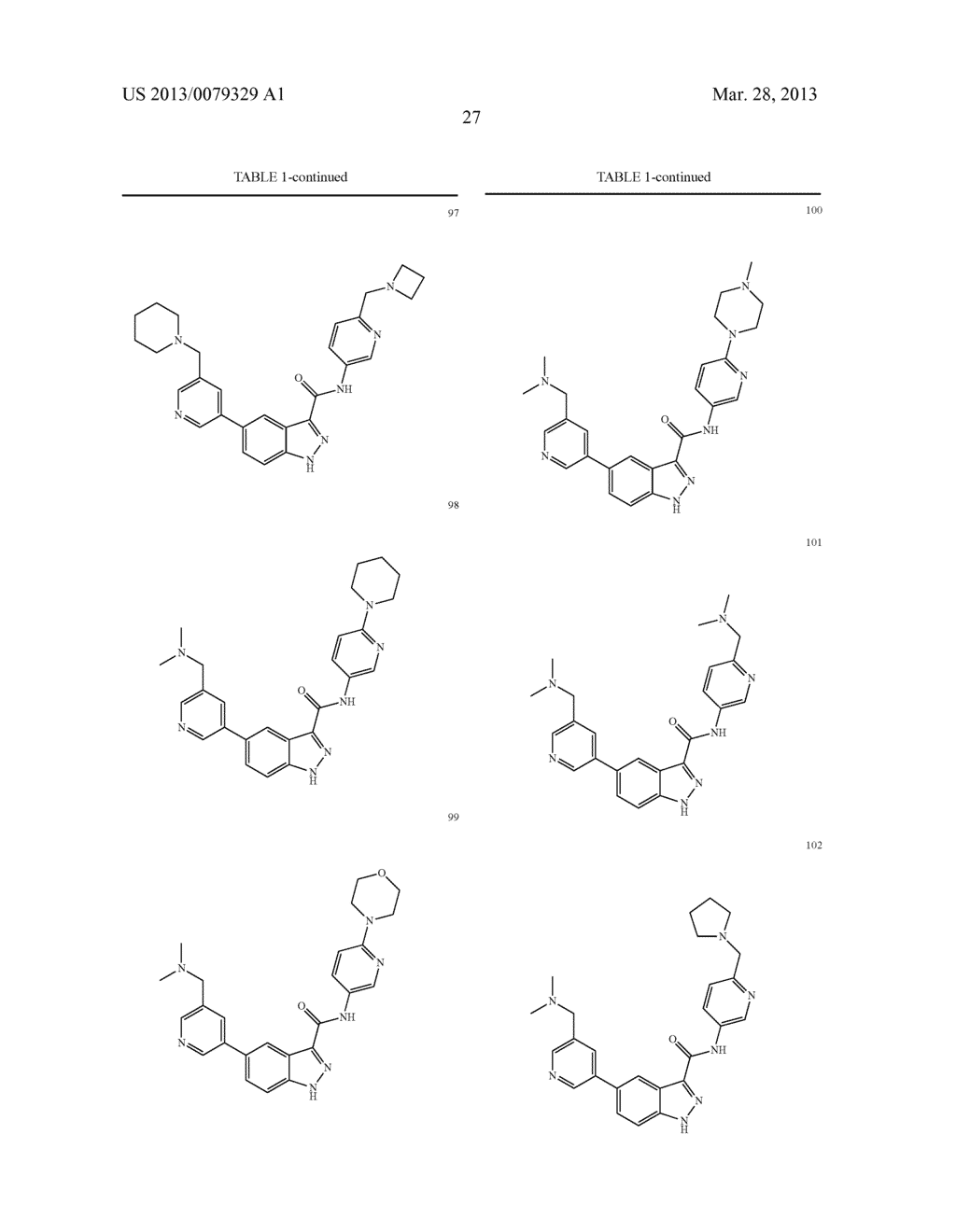 INDAZOLE-3-CARBOXAMIDES AND THEIR USE AS WNT/Beta-CATENIN SIGNALING     PATHWAY INHIBITORS - diagram, schematic, and image 28