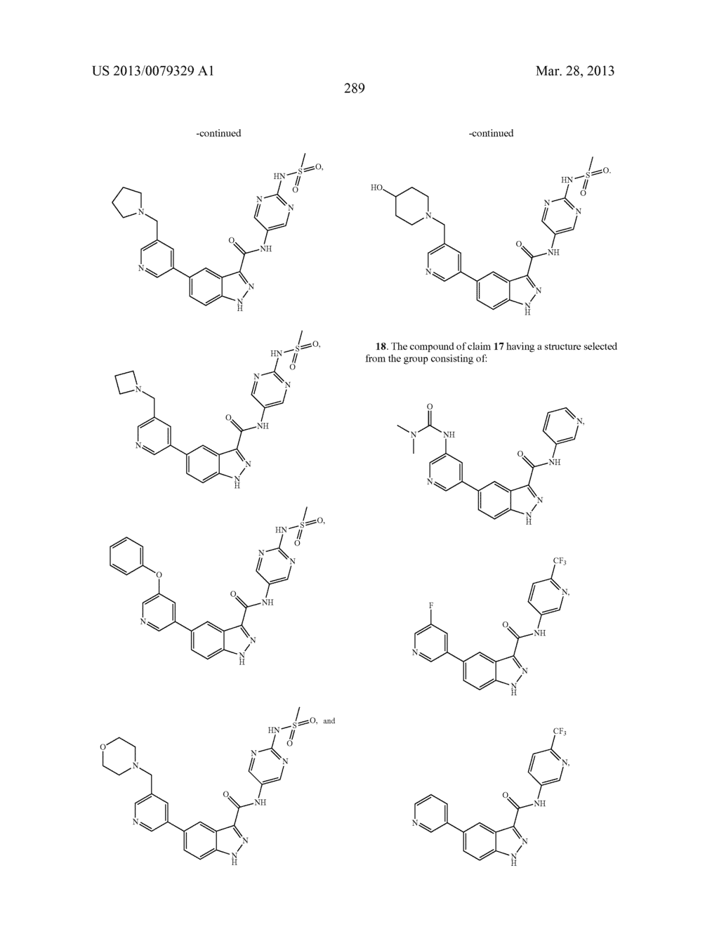 INDAZOLE-3-CARBOXAMIDES AND THEIR USE AS WNT/Beta-CATENIN SIGNALING     PATHWAY INHIBITORS - diagram, schematic, and image 290