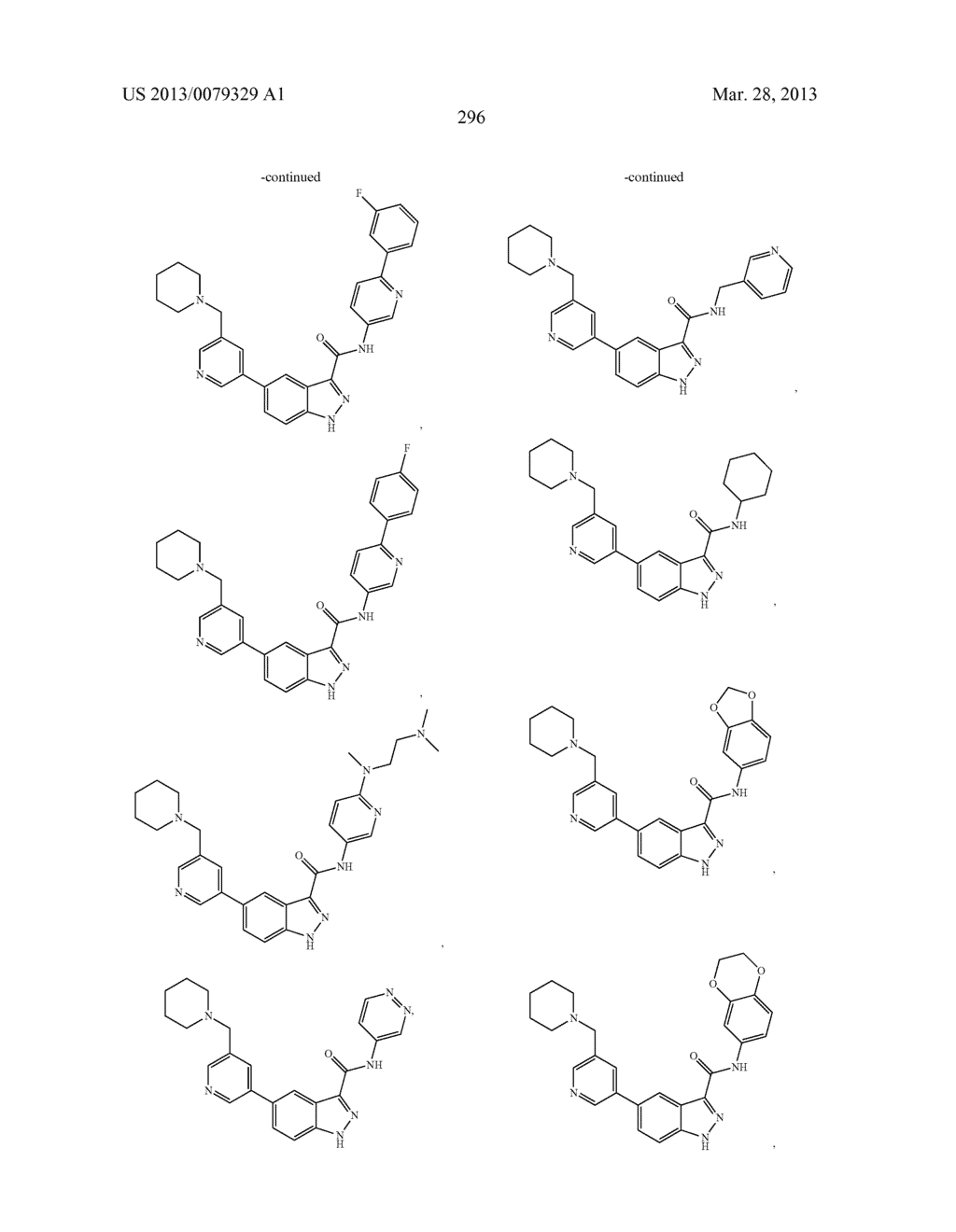 INDAZOLE-3-CARBOXAMIDES AND THEIR USE AS WNT/Beta-CATENIN SIGNALING     PATHWAY INHIBITORS - diagram, schematic, and image 297