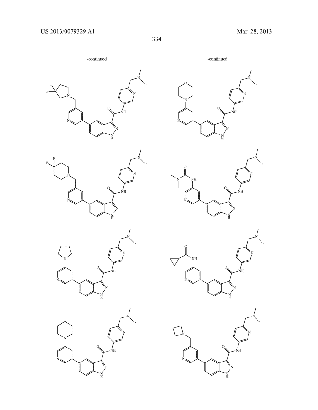 INDAZOLE-3-CARBOXAMIDES AND THEIR USE AS WNT/Beta-CATENIN SIGNALING     PATHWAY INHIBITORS - diagram, schematic, and image 335