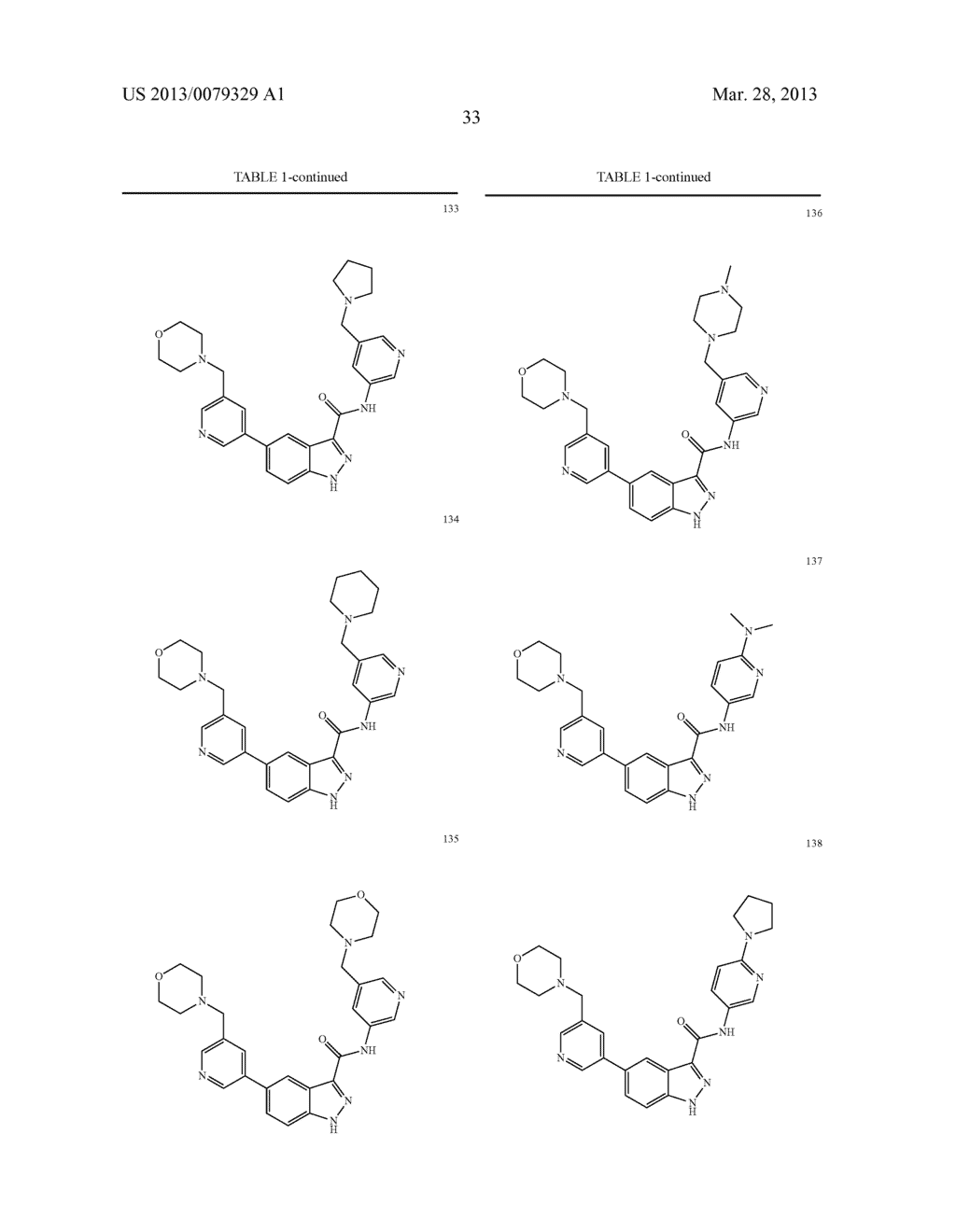 INDAZOLE-3-CARBOXAMIDES AND THEIR USE AS WNT/Beta-CATENIN SIGNALING     PATHWAY INHIBITORS - diagram, schematic, and image 34