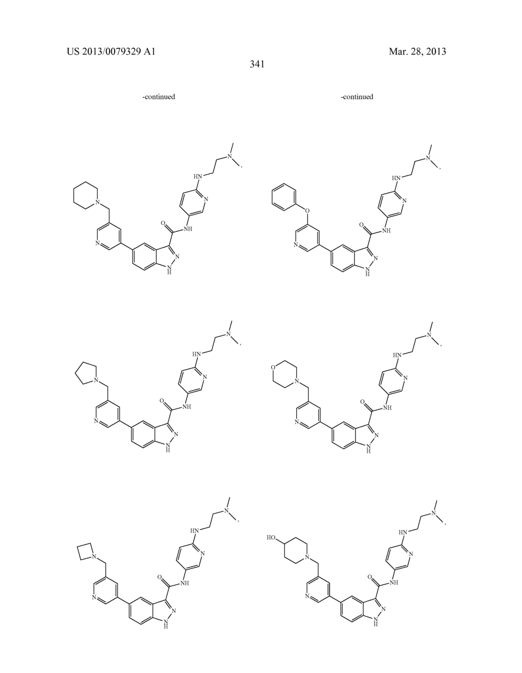INDAZOLE-3-CARBOXAMIDES AND THEIR USE AS WNT/Beta-CATENIN SIGNALING     PATHWAY INHIBITORS - diagram, schematic, and image 342