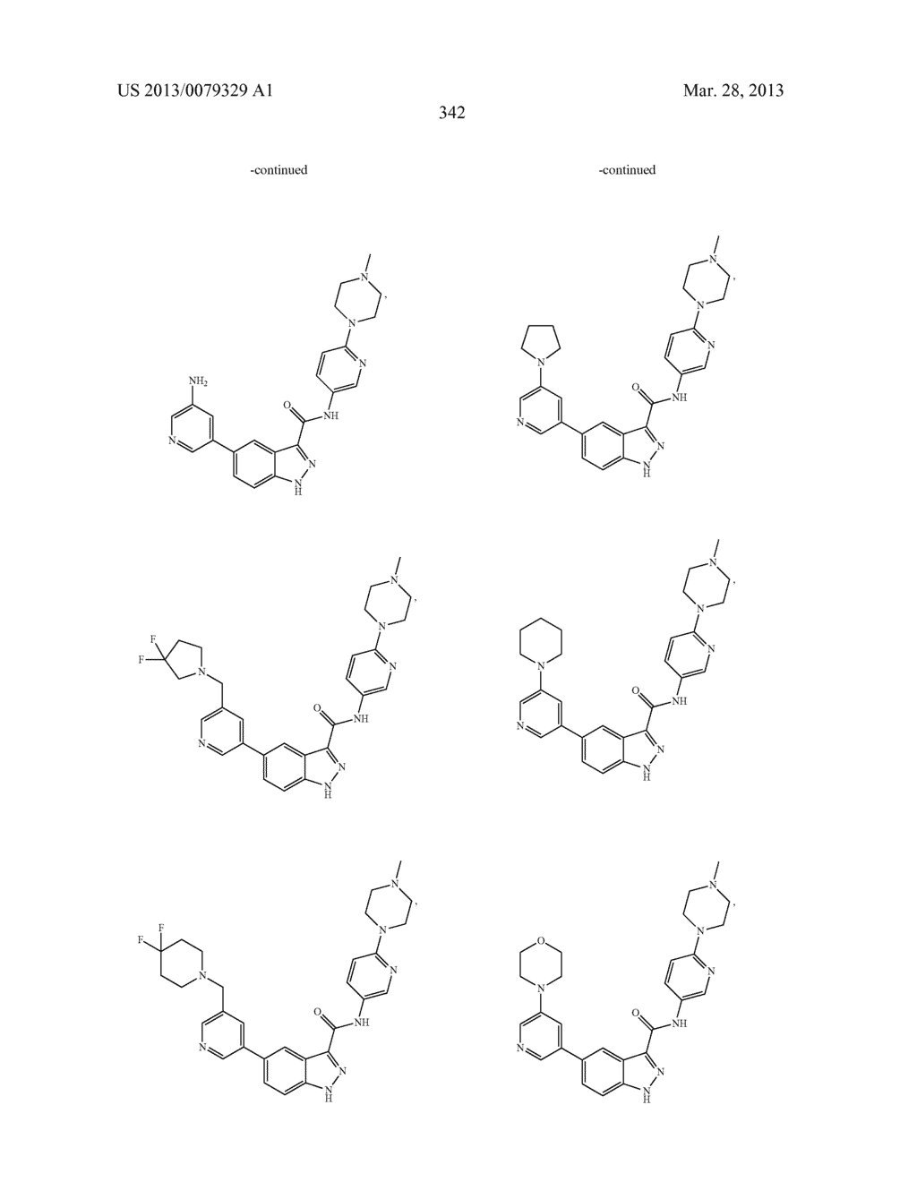 INDAZOLE-3-CARBOXAMIDES AND THEIR USE AS WNT/Beta-CATENIN SIGNALING     PATHWAY INHIBITORS - diagram, schematic, and image 343