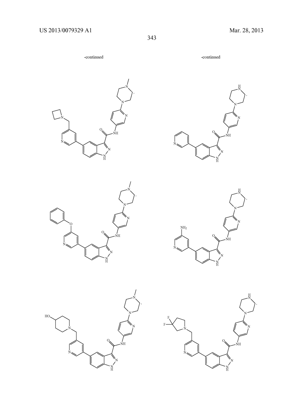 INDAZOLE-3-CARBOXAMIDES AND THEIR USE AS WNT/Beta-CATENIN SIGNALING     PATHWAY INHIBITORS - diagram, schematic, and image 344
