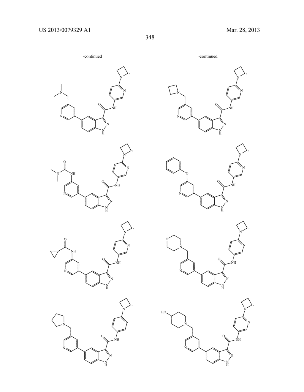 INDAZOLE-3-CARBOXAMIDES AND THEIR USE AS WNT/Beta-CATENIN SIGNALING     PATHWAY INHIBITORS - diagram, schematic, and image 349