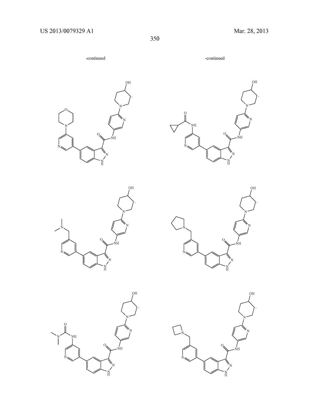 INDAZOLE-3-CARBOXAMIDES AND THEIR USE AS WNT/Beta-CATENIN SIGNALING     PATHWAY INHIBITORS - diagram, schematic, and image 351