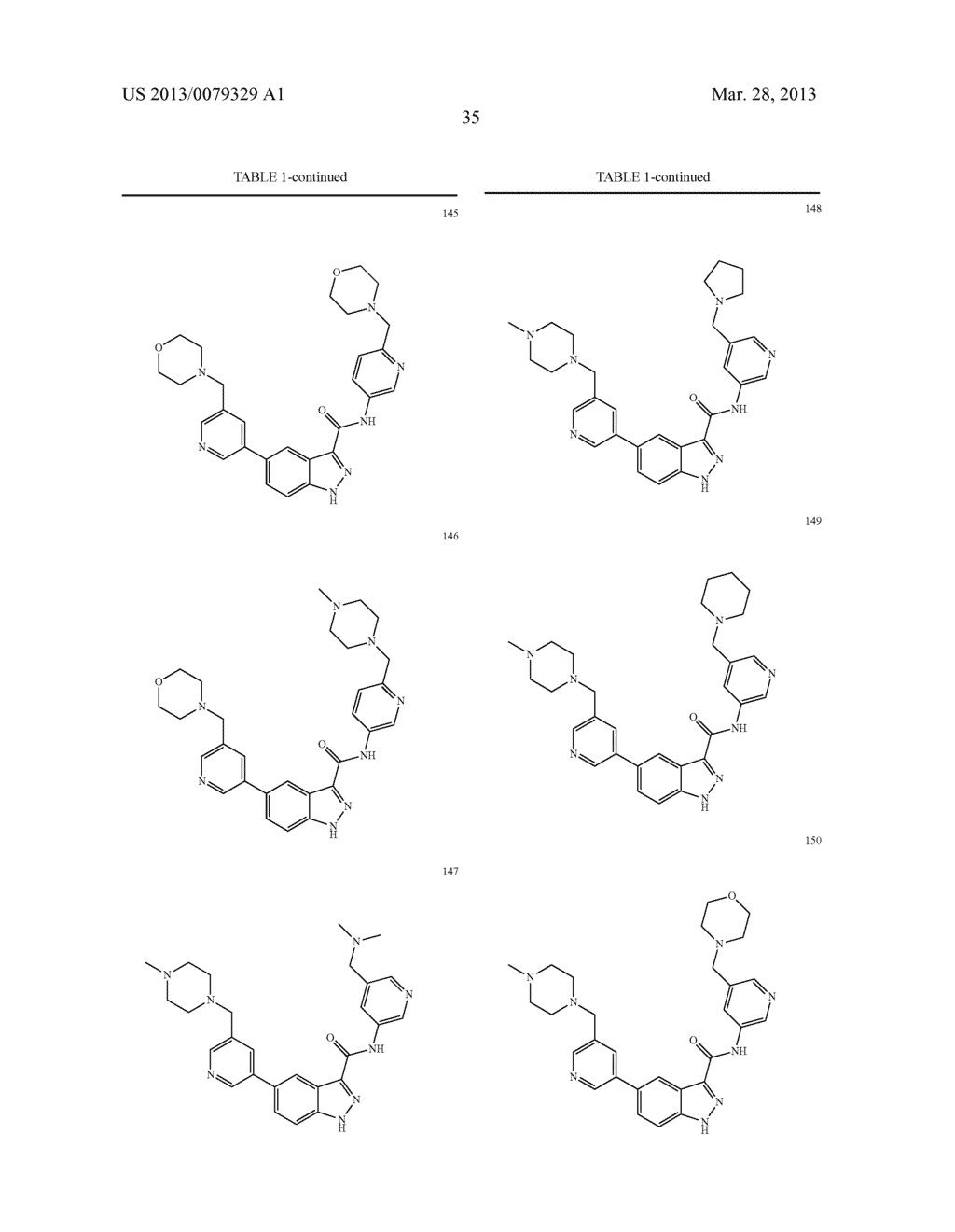 INDAZOLE-3-CARBOXAMIDES AND THEIR USE AS WNT/Beta-CATENIN SIGNALING     PATHWAY INHIBITORS - diagram, schematic, and image 36