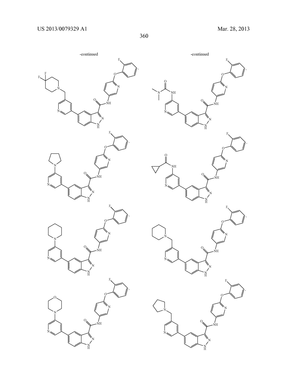 INDAZOLE-3-CARBOXAMIDES AND THEIR USE AS WNT/Beta-CATENIN SIGNALING     PATHWAY INHIBITORS - diagram, schematic, and image 361