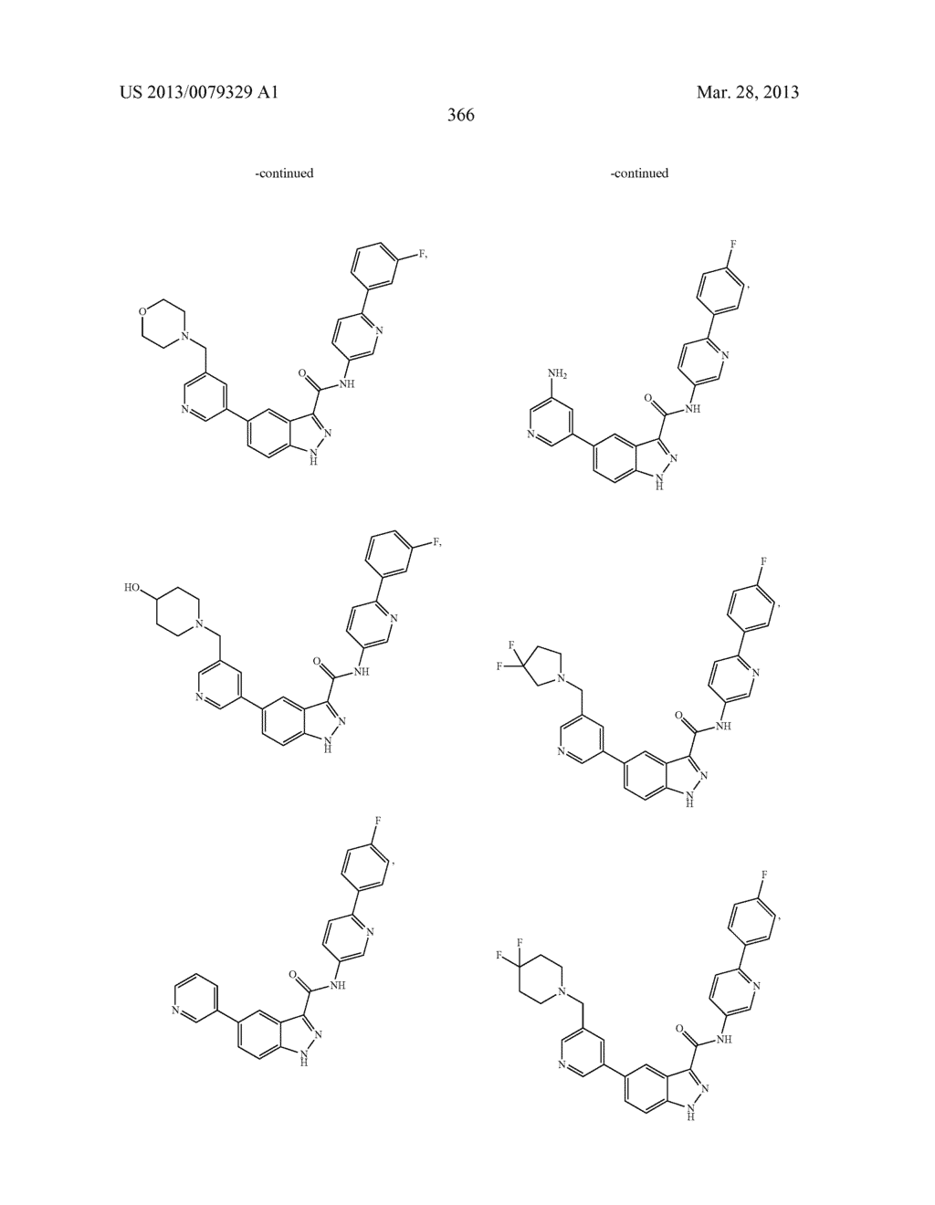 INDAZOLE-3-CARBOXAMIDES AND THEIR USE AS WNT/Beta-CATENIN SIGNALING     PATHWAY INHIBITORS - diagram, schematic, and image 367