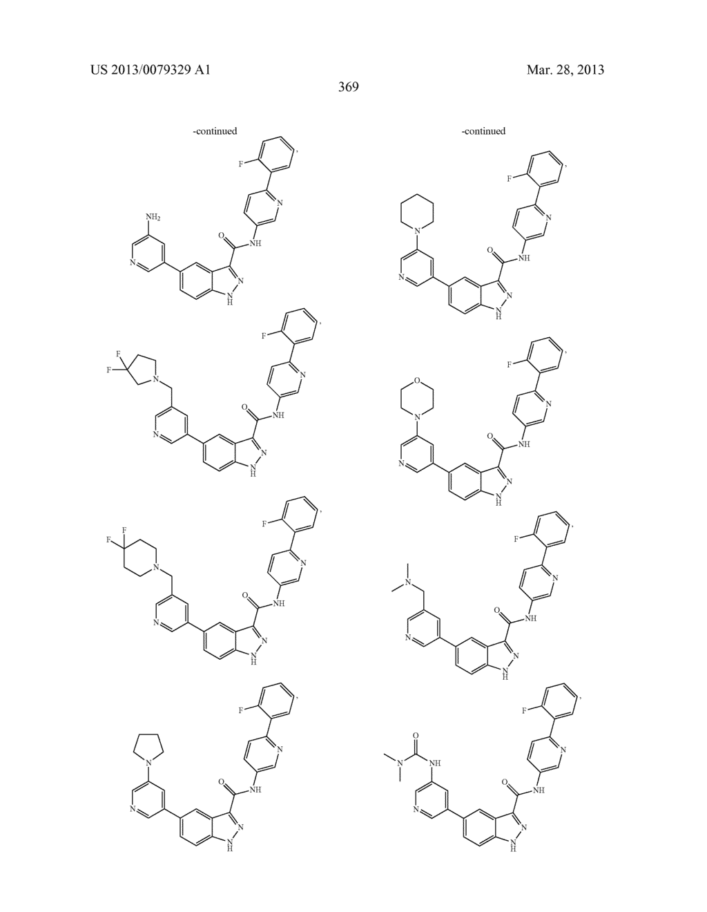 INDAZOLE-3-CARBOXAMIDES AND THEIR USE AS WNT/Beta-CATENIN SIGNALING     PATHWAY INHIBITORS - diagram, schematic, and image 370