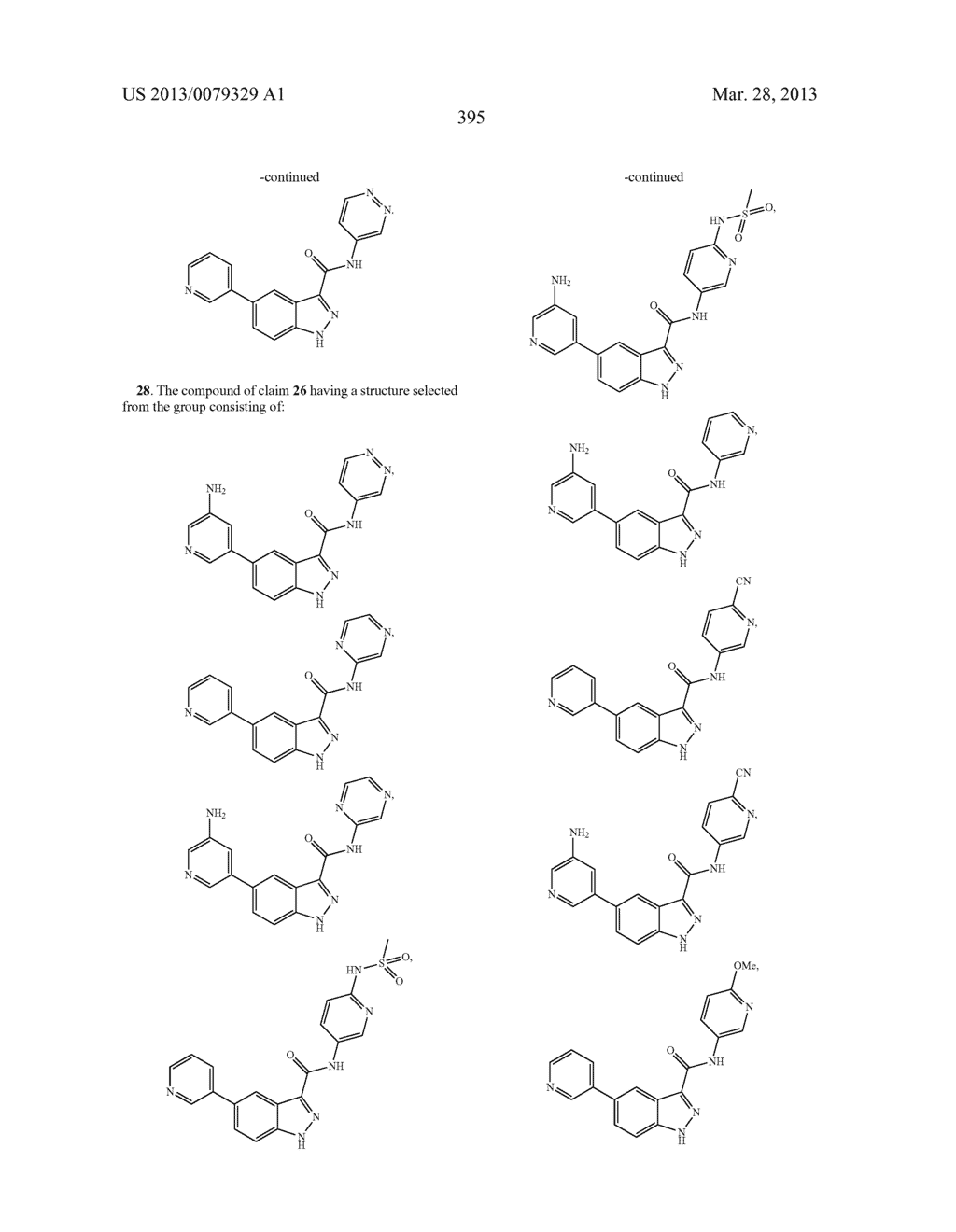 INDAZOLE-3-CARBOXAMIDES AND THEIR USE AS WNT/Beta-CATENIN SIGNALING     PATHWAY INHIBITORS - diagram, schematic, and image 396
