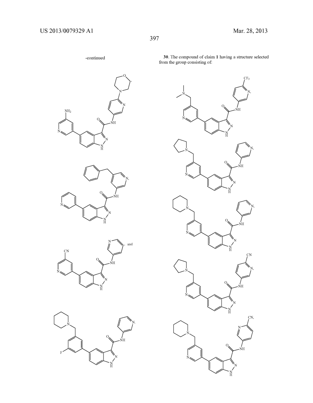 INDAZOLE-3-CARBOXAMIDES AND THEIR USE AS WNT/Beta-CATENIN SIGNALING     PATHWAY INHIBITORS - diagram, schematic, and image 398