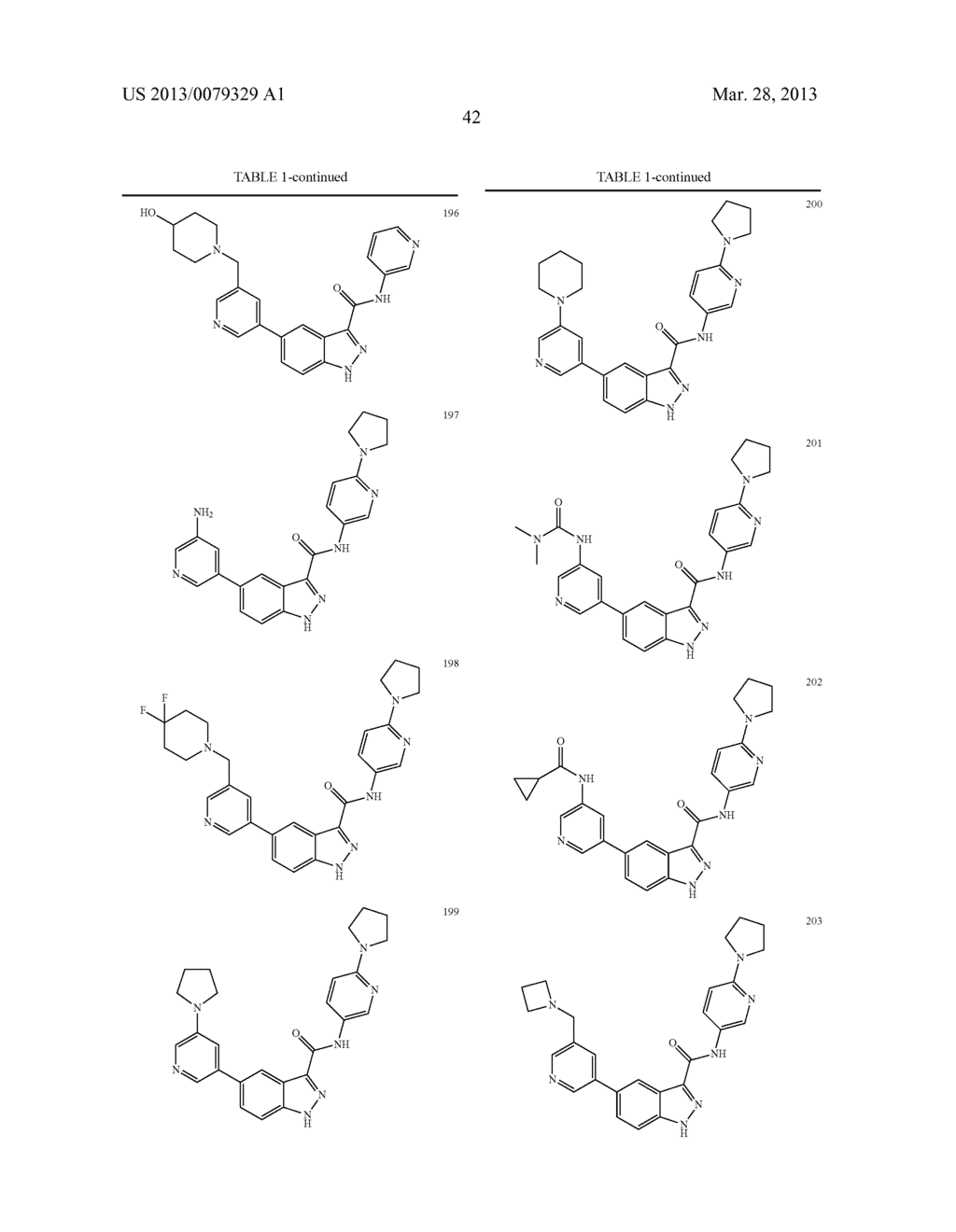 INDAZOLE-3-CARBOXAMIDES AND THEIR USE AS WNT/Beta-CATENIN SIGNALING     PATHWAY INHIBITORS - diagram, schematic, and image 43