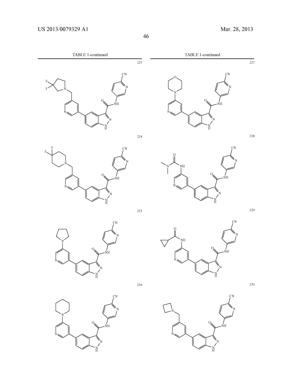 INDAZOLE-3-CARBOXAMIDES AND THEIR USE AS WNT/Beta-CATENIN SIGNALING     PATHWAY INHIBITORS - diagram, schematic, and image 47