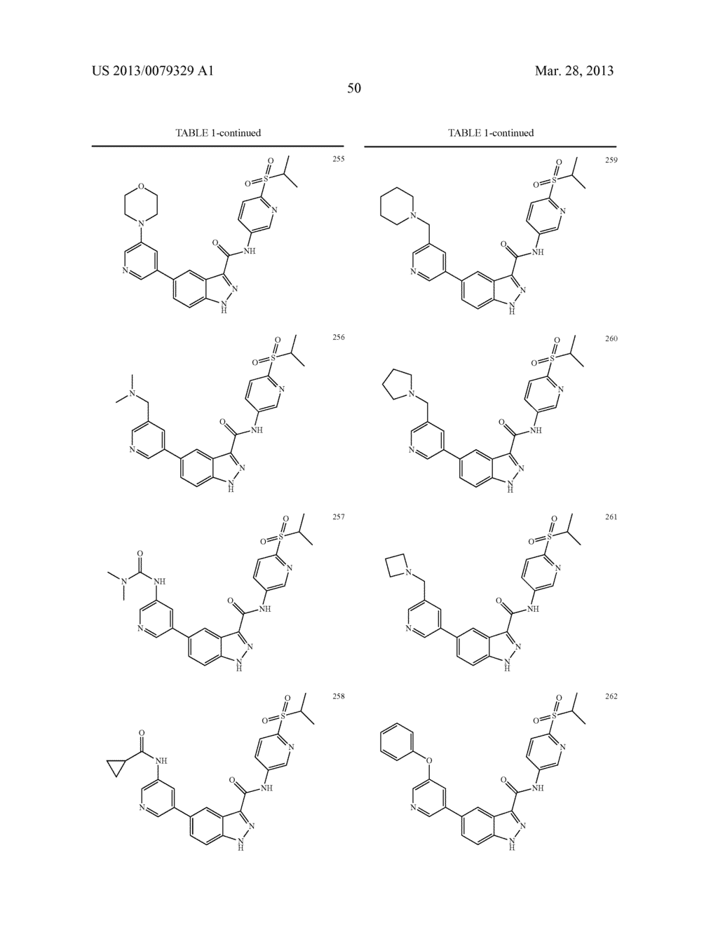 INDAZOLE-3-CARBOXAMIDES AND THEIR USE AS WNT/Beta-CATENIN SIGNALING     PATHWAY INHIBITORS - diagram, schematic, and image 51