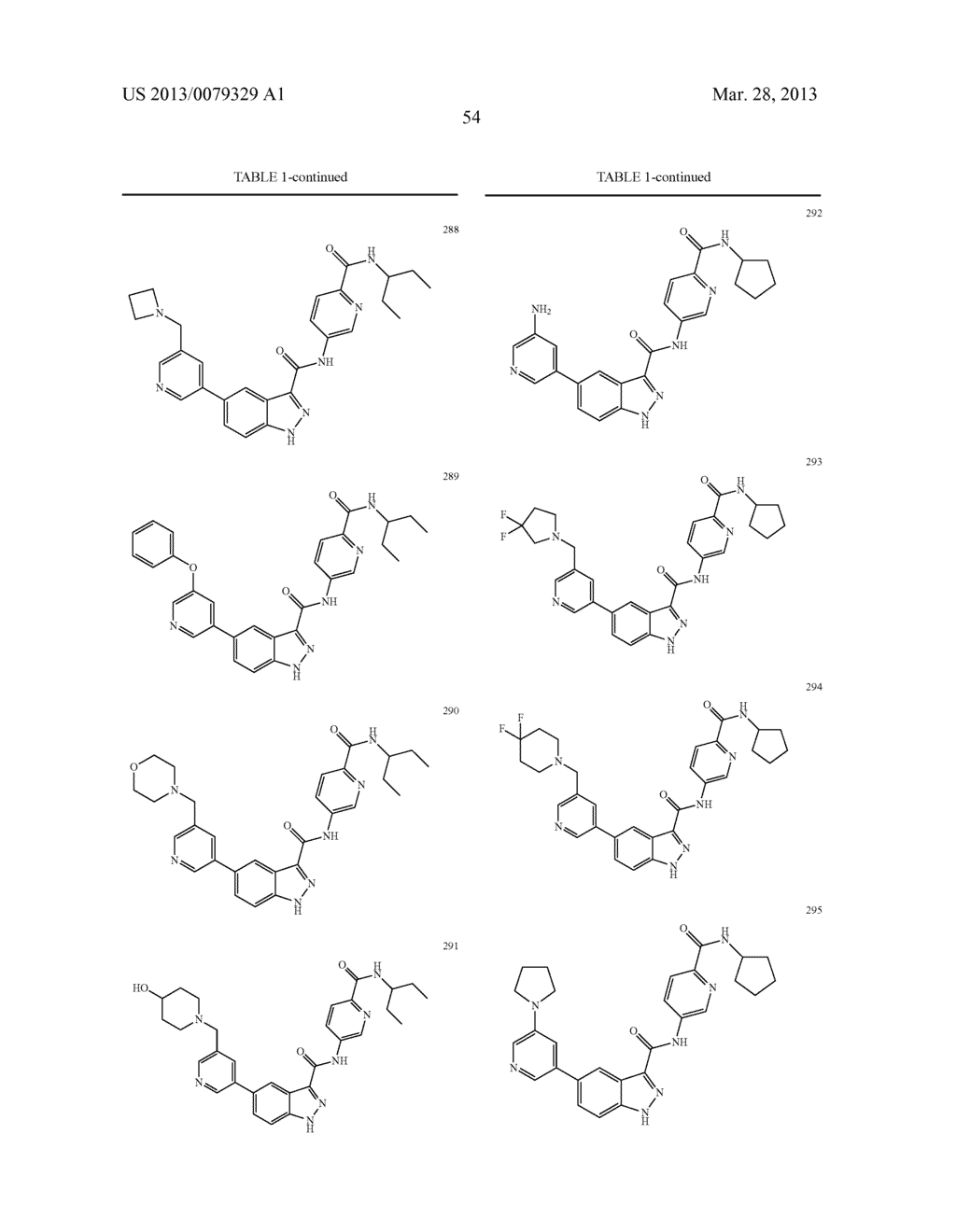 INDAZOLE-3-CARBOXAMIDES AND THEIR USE AS WNT/Beta-CATENIN SIGNALING     PATHWAY INHIBITORS - diagram, schematic, and image 55