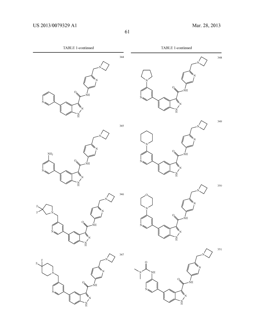 INDAZOLE-3-CARBOXAMIDES AND THEIR USE AS WNT/Beta-CATENIN SIGNALING     PATHWAY INHIBITORS - diagram, schematic, and image 62