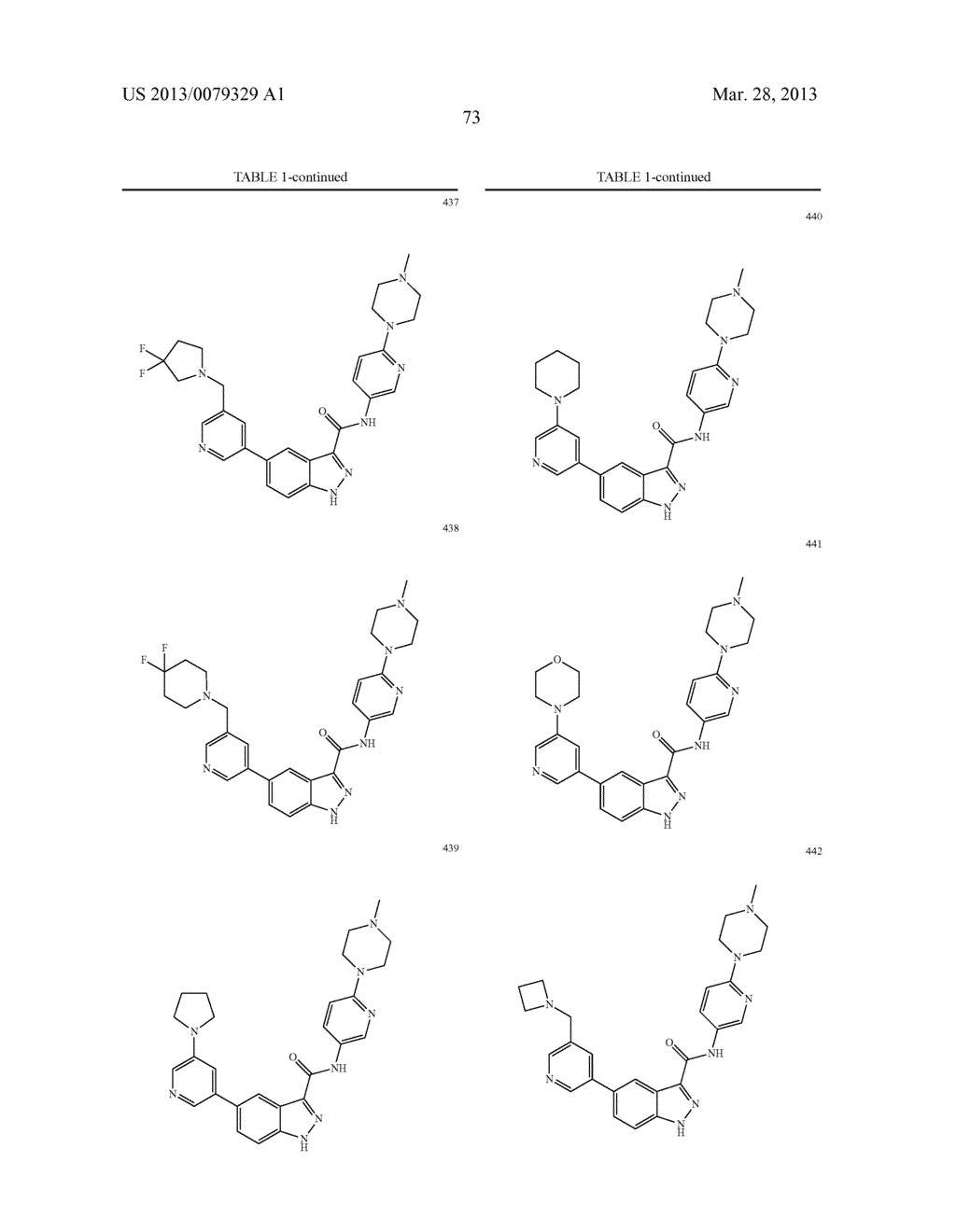 INDAZOLE-3-CARBOXAMIDES AND THEIR USE AS WNT/Beta-CATENIN SIGNALING     PATHWAY INHIBITORS - diagram, schematic, and image 74