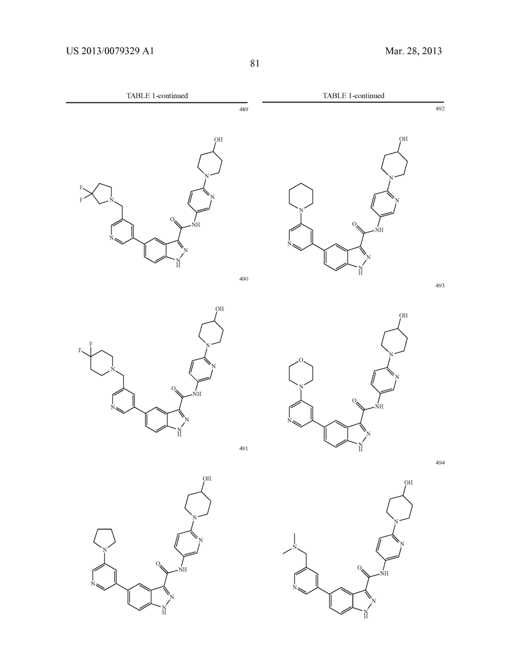 INDAZOLE-3-CARBOXAMIDES AND THEIR USE AS WNT/Beta-CATENIN SIGNALING     PATHWAY INHIBITORS - diagram, schematic, and image 82