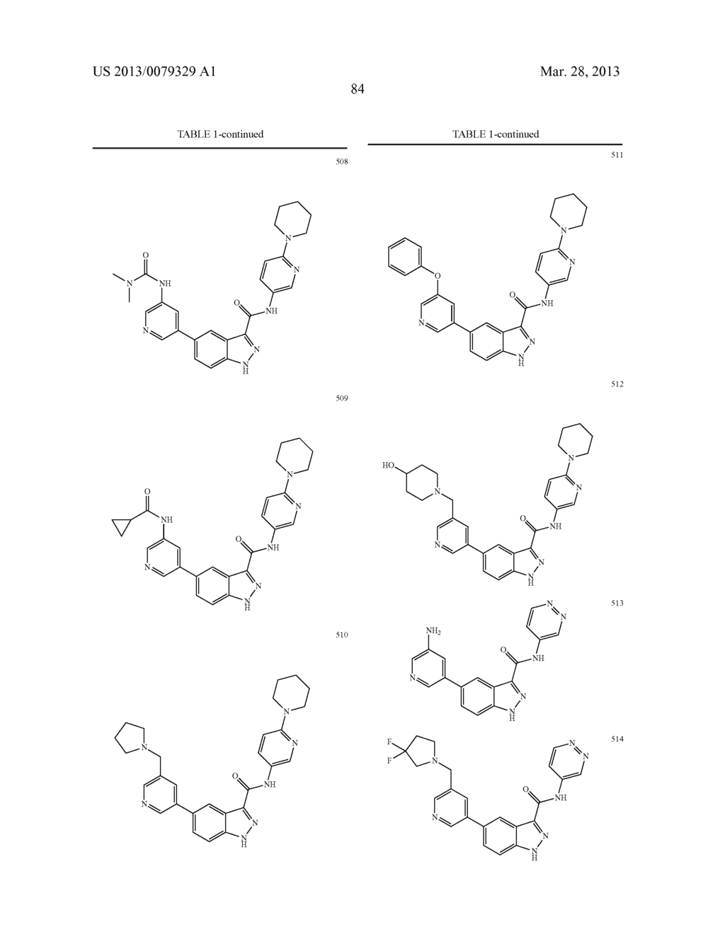 INDAZOLE-3-CARBOXAMIDES AND THEIR USE AS WNT/Beta-CATENIN SIGNALING     PATHWAY INHIBITORS - diagram, schematic, and image 85