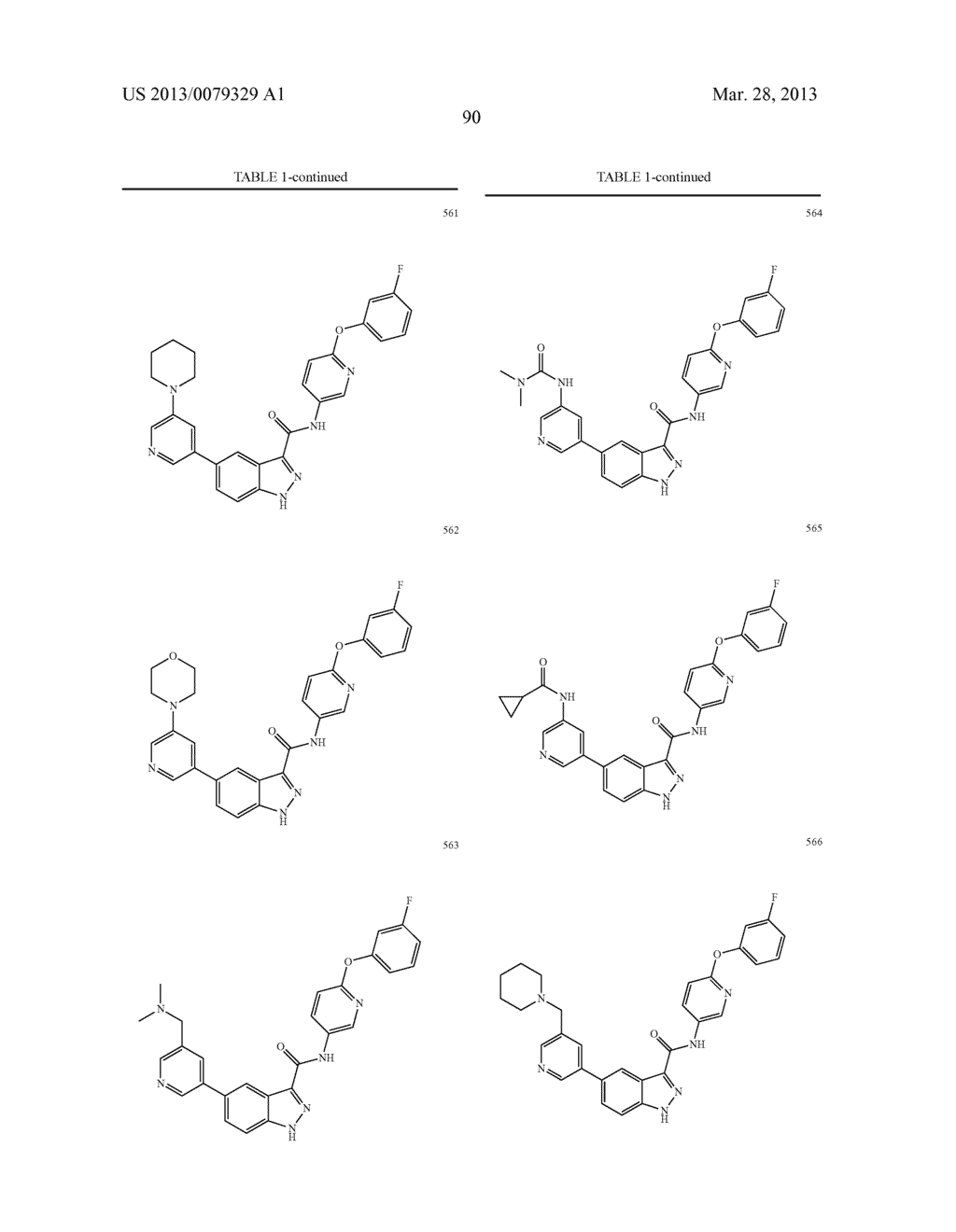 INDAZOLE-3-CARBOXAMIDES AND THEIR USE AS WNT/Beta-CATENIN SIGNALING     PATHWAY INHIBITORS - diagram, schematic, and image 91