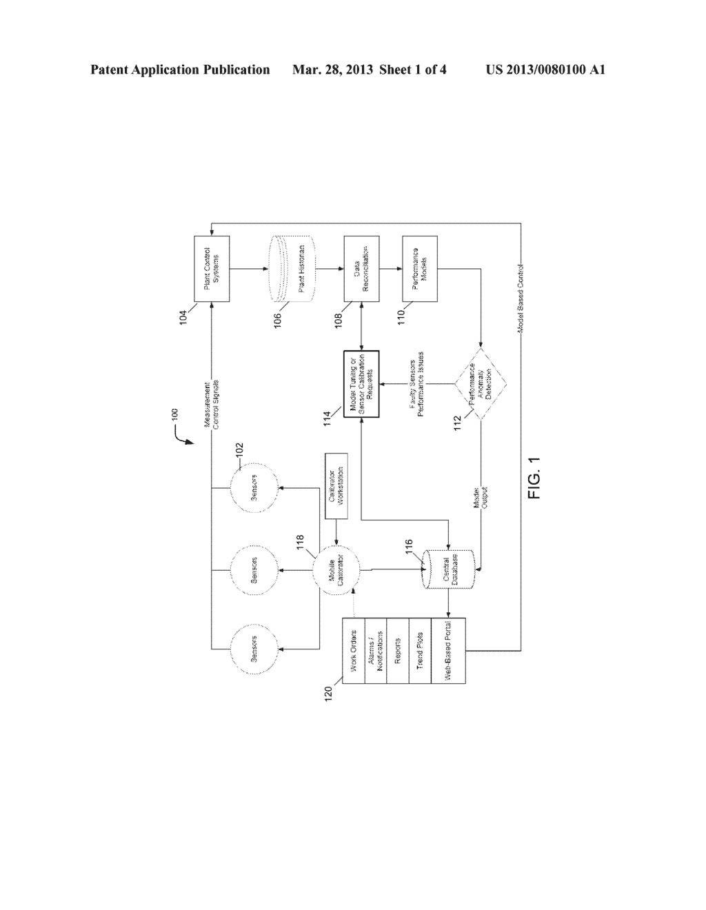 Systems and Methods for Condition-Based Power Plant Sensor Calibration - diagram, schematic, and image 02