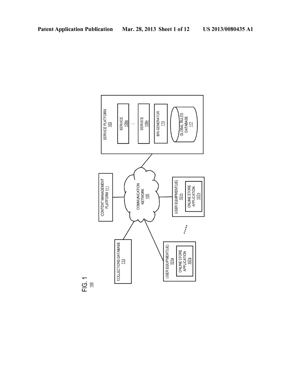 METHOD AND APPARATUS FOR MANAGING ONLINE CONTENT COLLECTIONS - diagram, schematic, and image 02