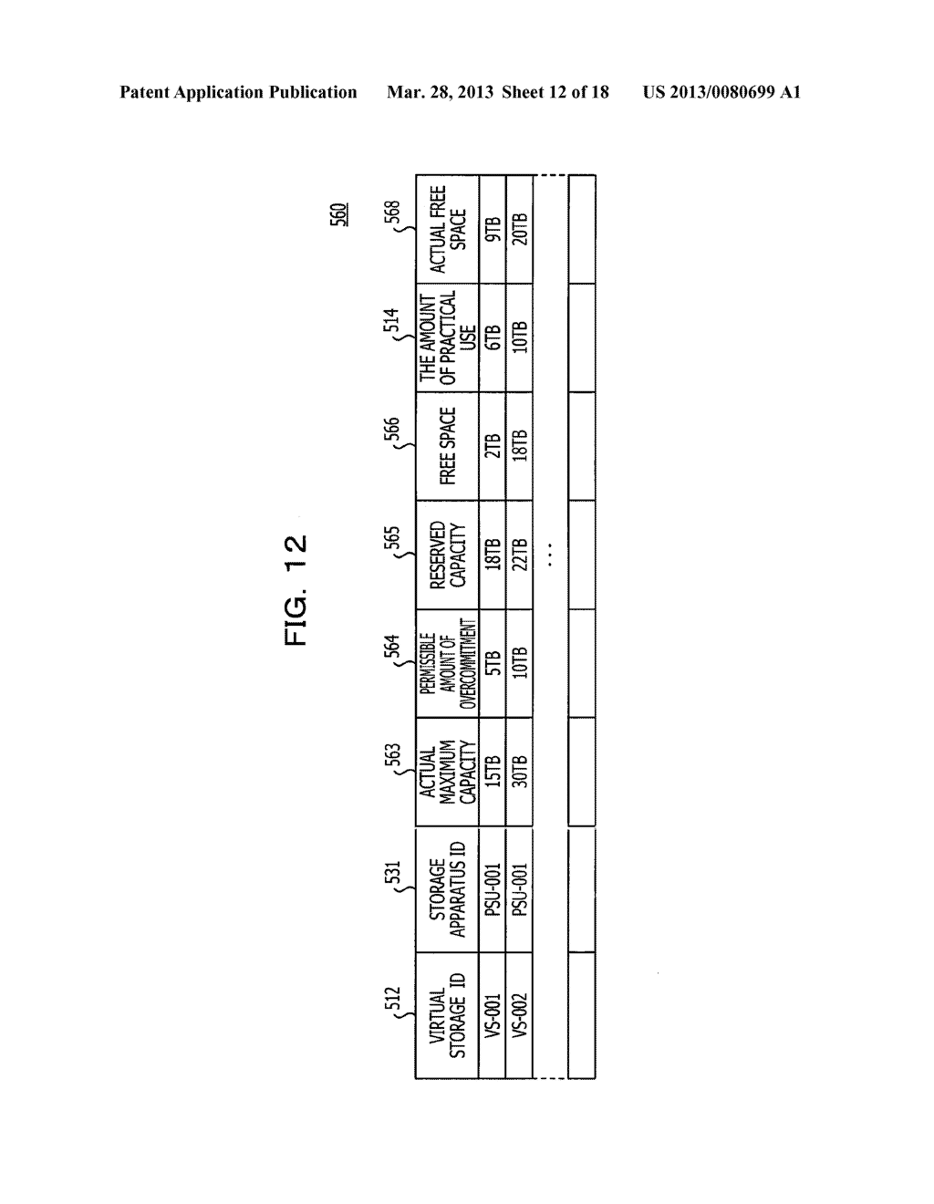 INFORMATION PROCESSING APPARATUS CONTROL METHOD, COMPUTER-READABLE     RECORDING MEDIUM, AND INFORMATION PROCESSING APPARATUS - diagram, schematic, and image 13