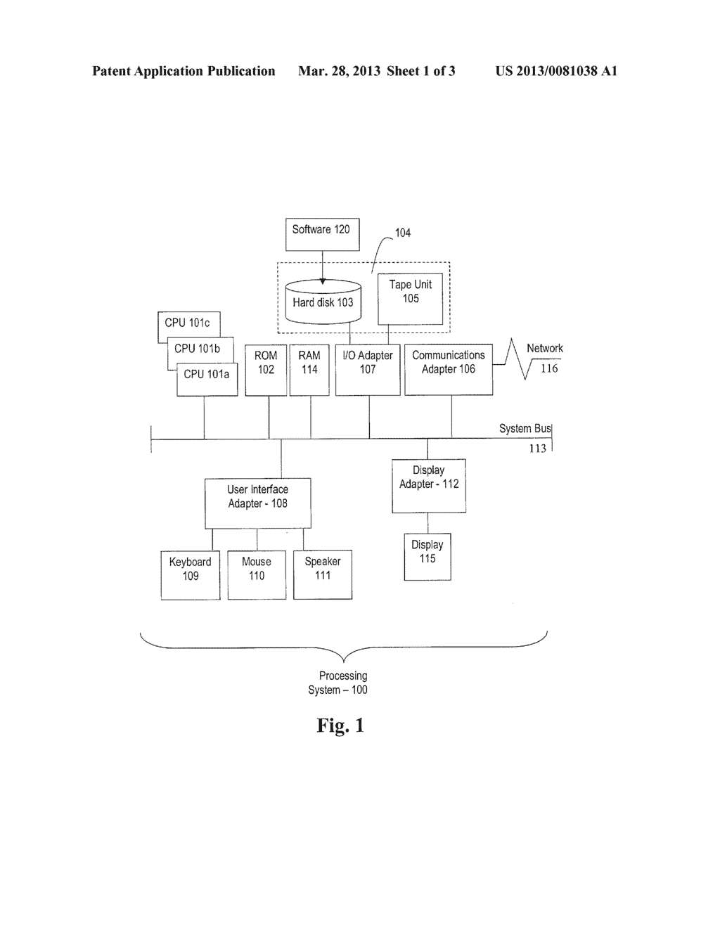 MULTIPROCESSOR COMPUTING DEVICE - diagram, schematic, and image 02