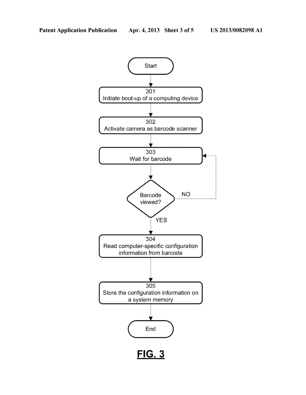 APPARATUS AND METHOD FOR AUTOMATICALLY PROVIDING INFORMATION TO A NEW     COMPUTER - diagram, schematic, and image 04