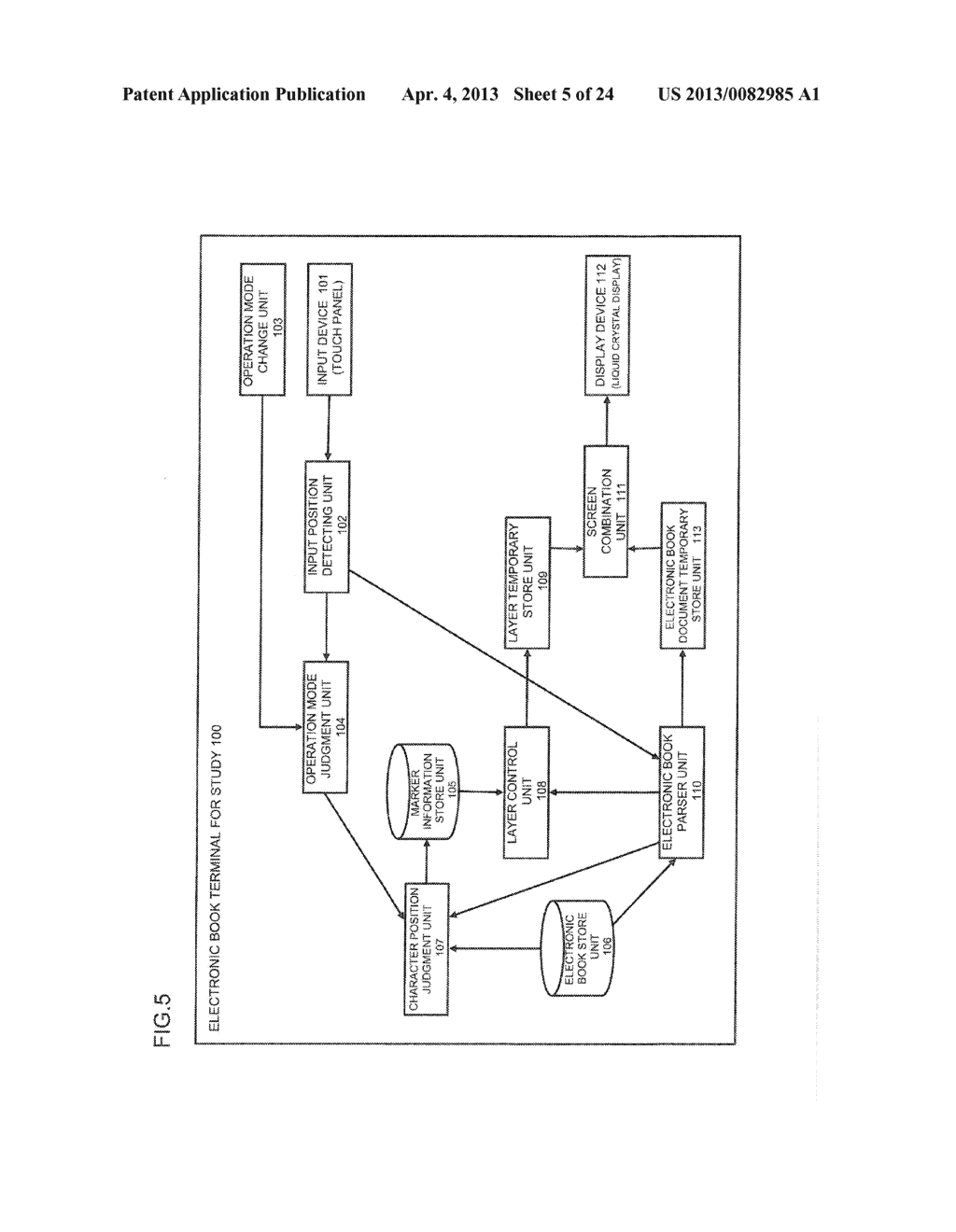 CONTENT DISPLAY APPARATUS, AND CONTENT DISPLAY METHOD - diagram, schematic, and image 06